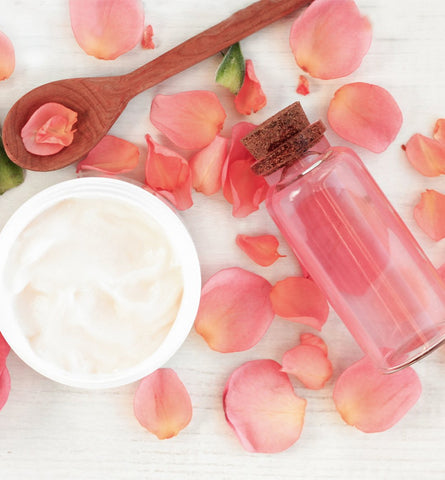 Blog Feed Article Feature Image Carousel: DIY Highlight: Rose Water for Hair
