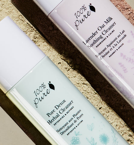 Blog Feed Article Feature Image Carousel: All NEW: Powder Cleansers
