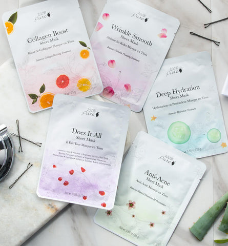 Blog Feed Article Feature Image Carousel: Korean Sheet Mask Essentials