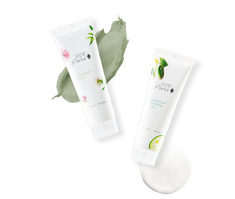 Blog Feed Article Feature Image Carousel: Aqua Boost and Herbal Detox Masks