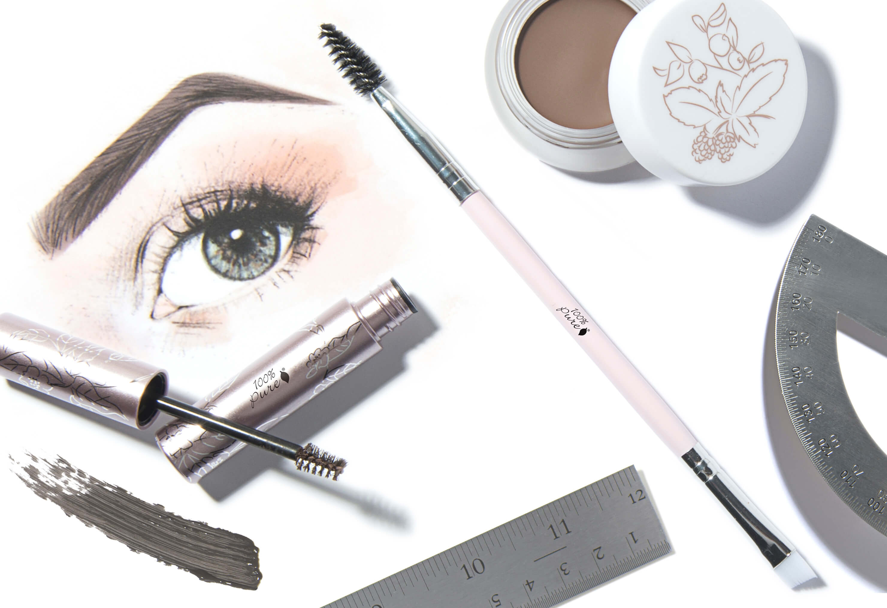 Eyebrow Brush The Secret To Eyebrow Shaping 100 Pure