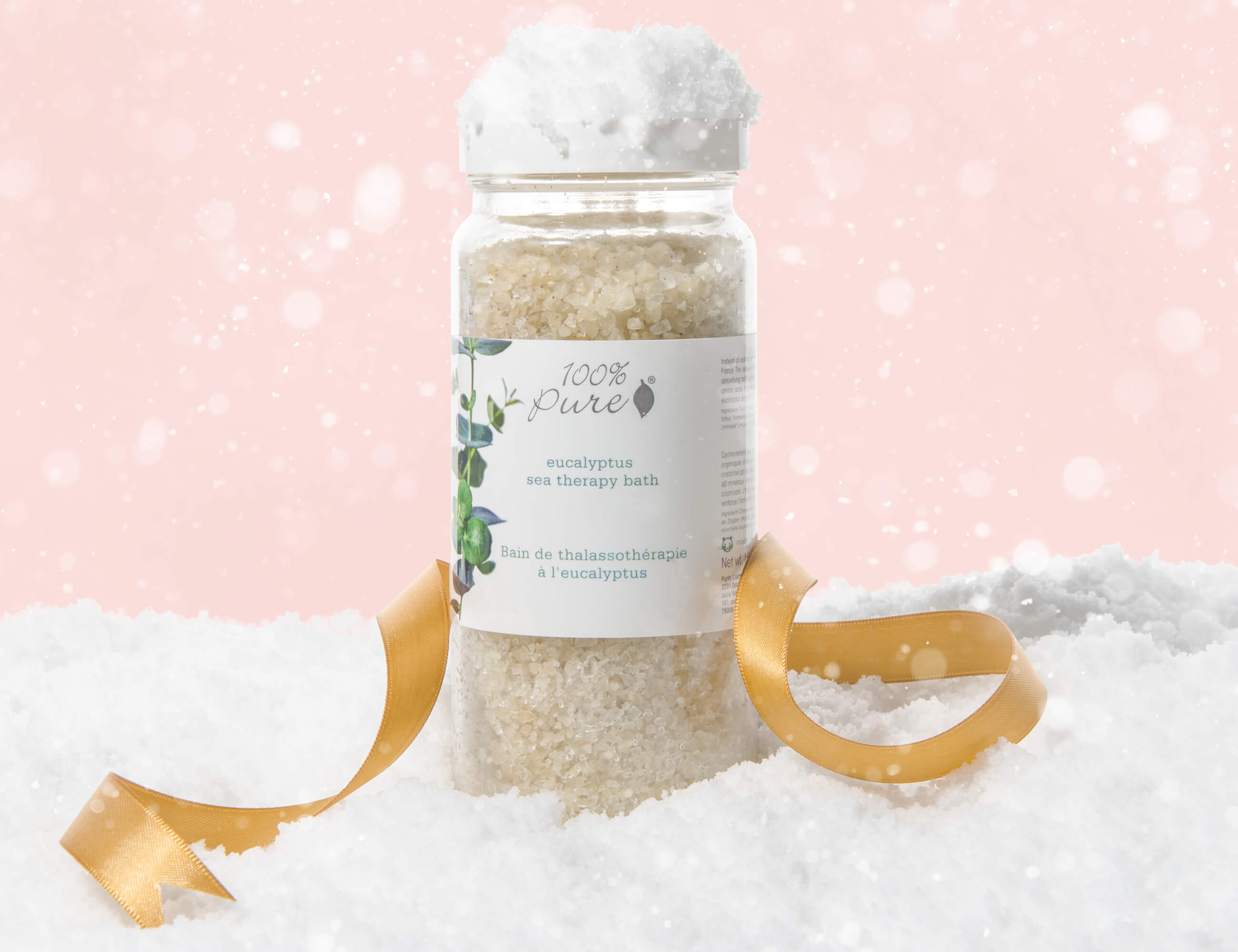 100% PURE Eucalyptus Seat Therapy Bath Salts
