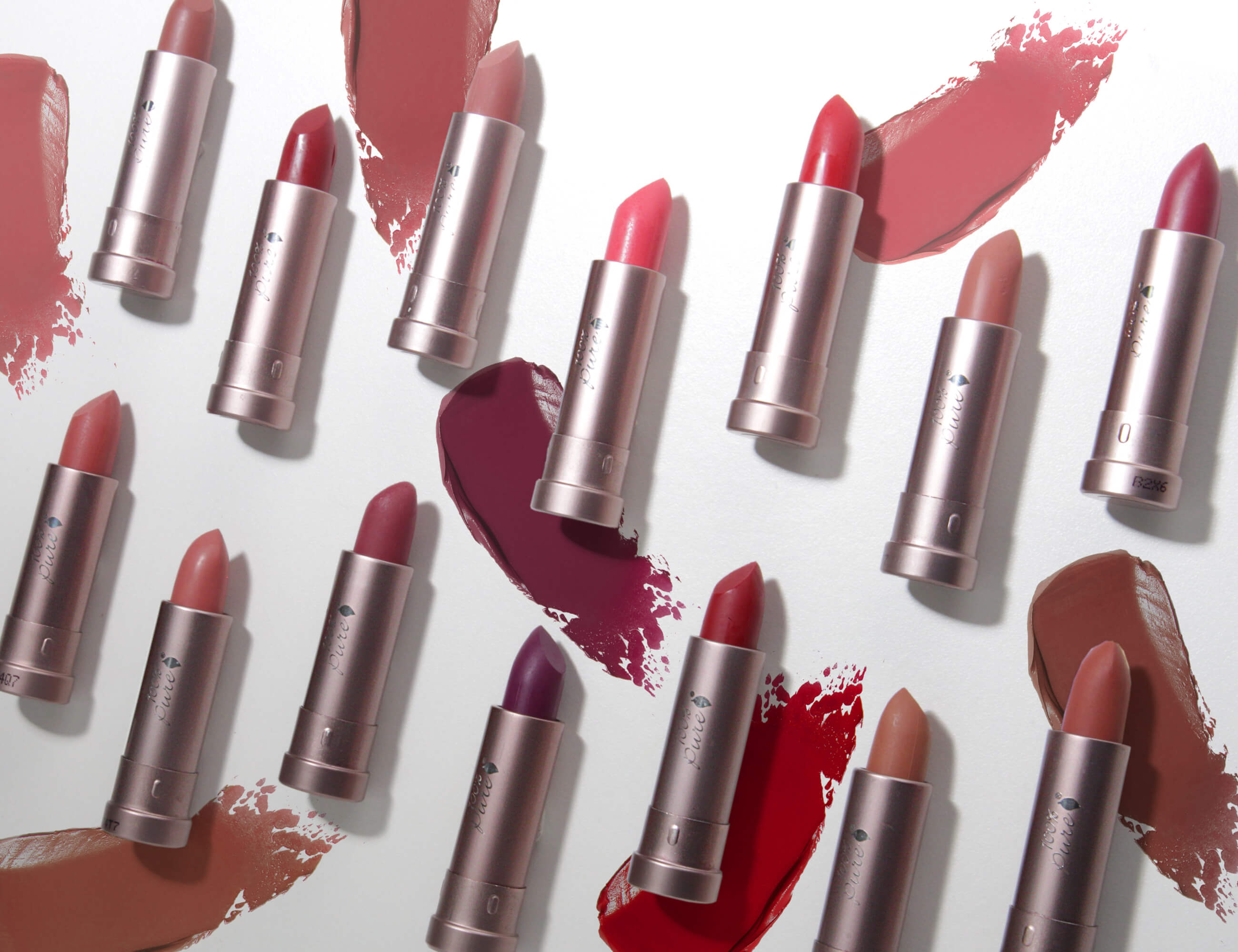 100% Pure Lipsticks