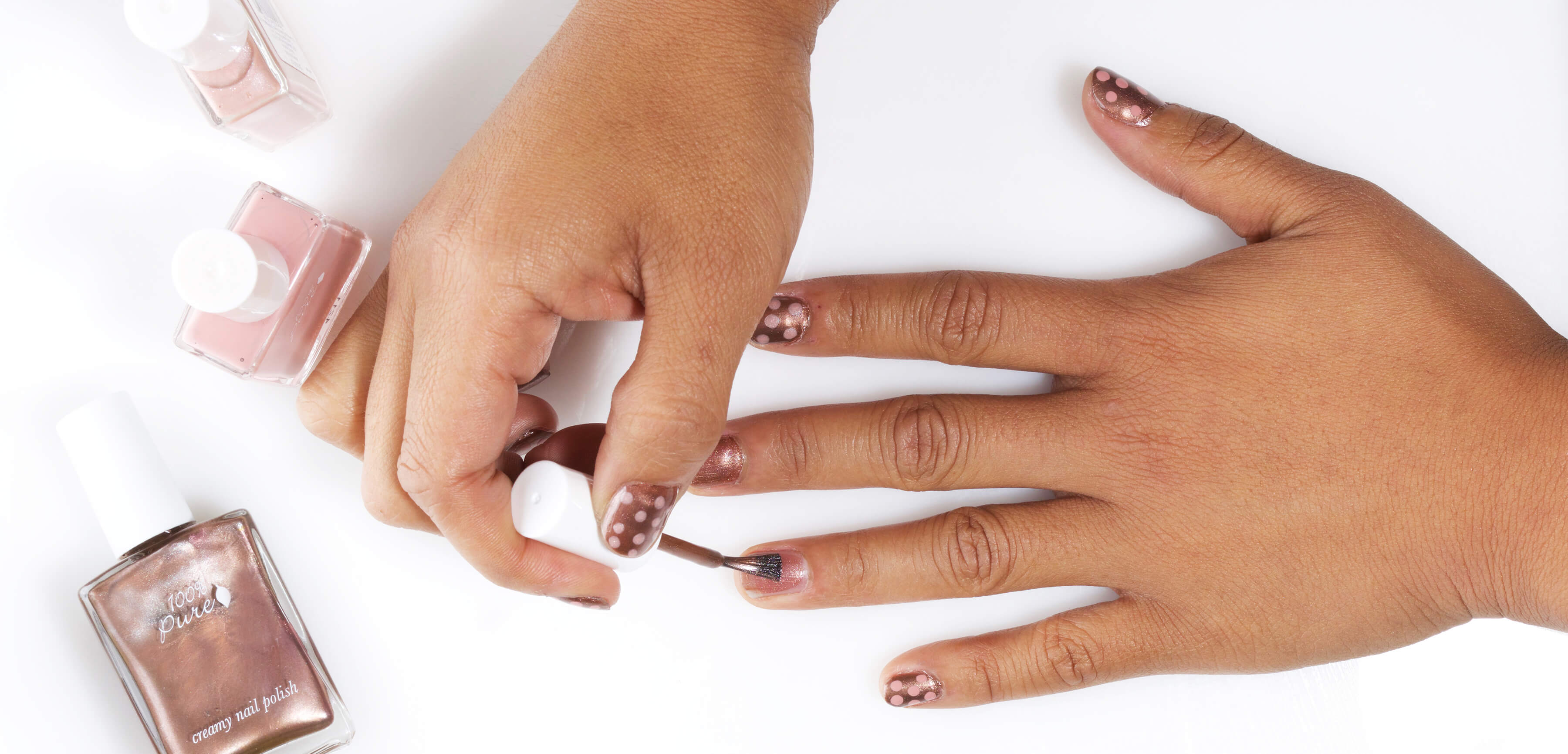 How To Pull Off 3 Easy Nude Nail Designs 100 Pure