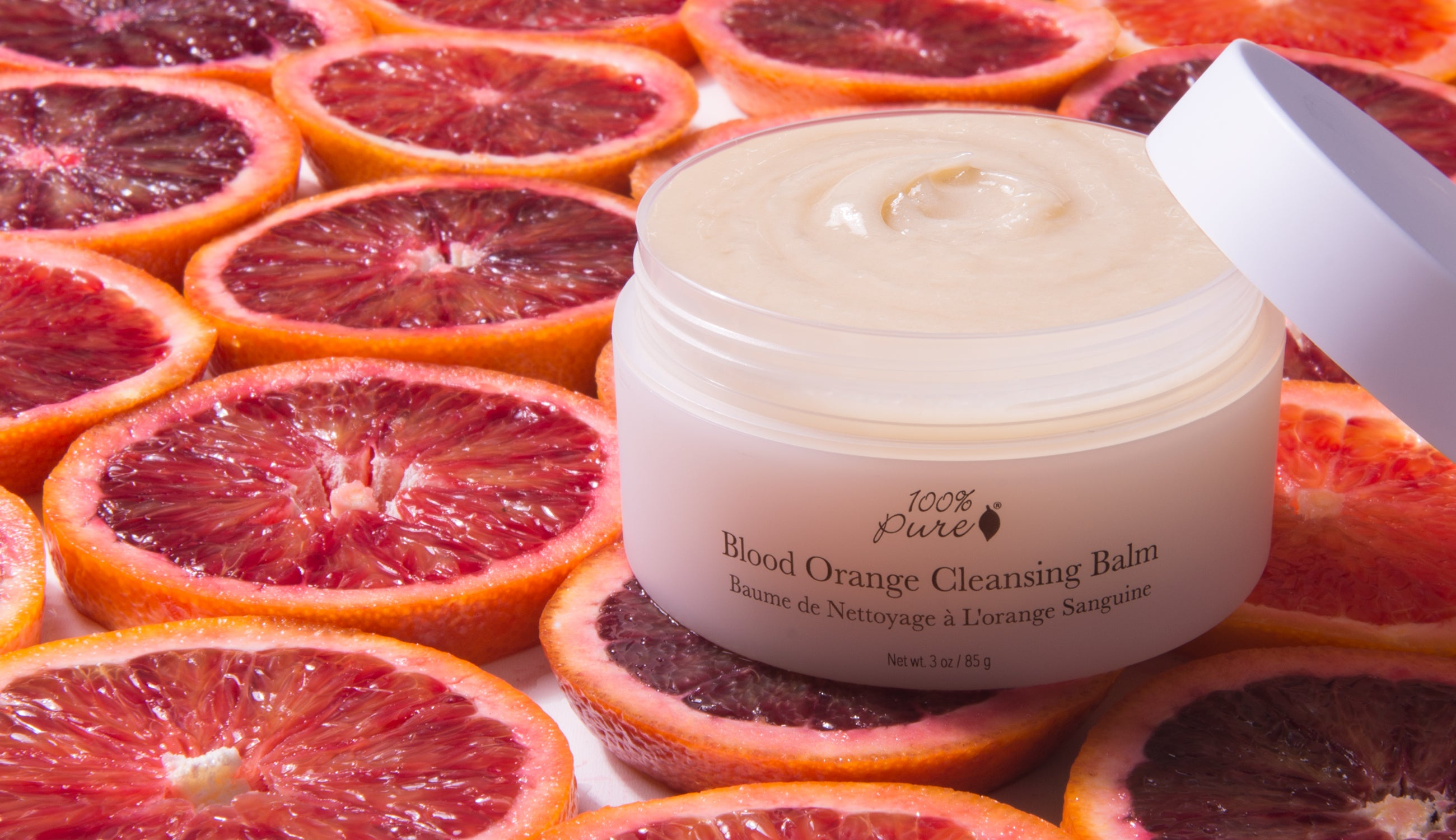 100% PURE Blood Orange Cleansing Balm