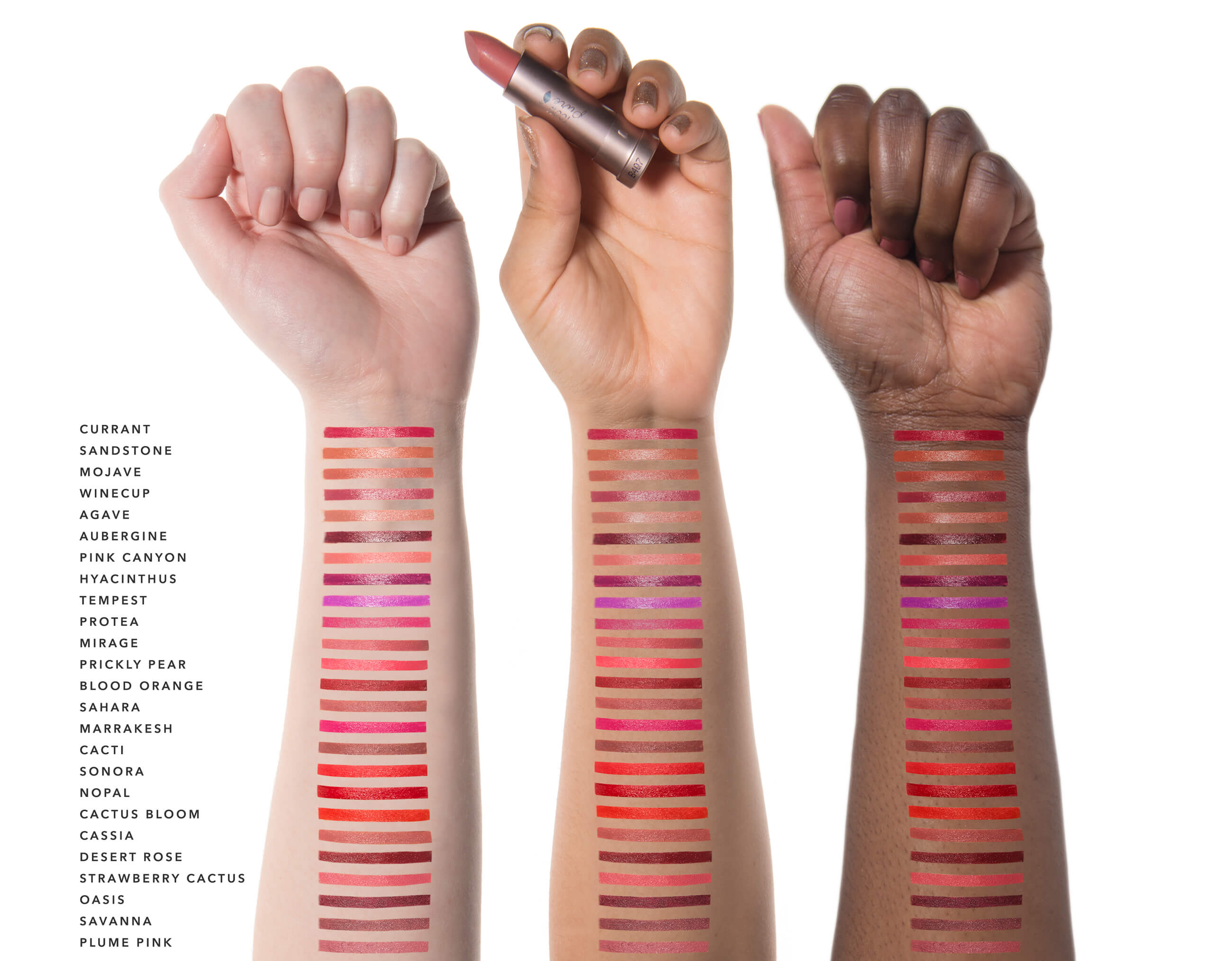 Cocoa Butter Matte Lipsticks Swatches