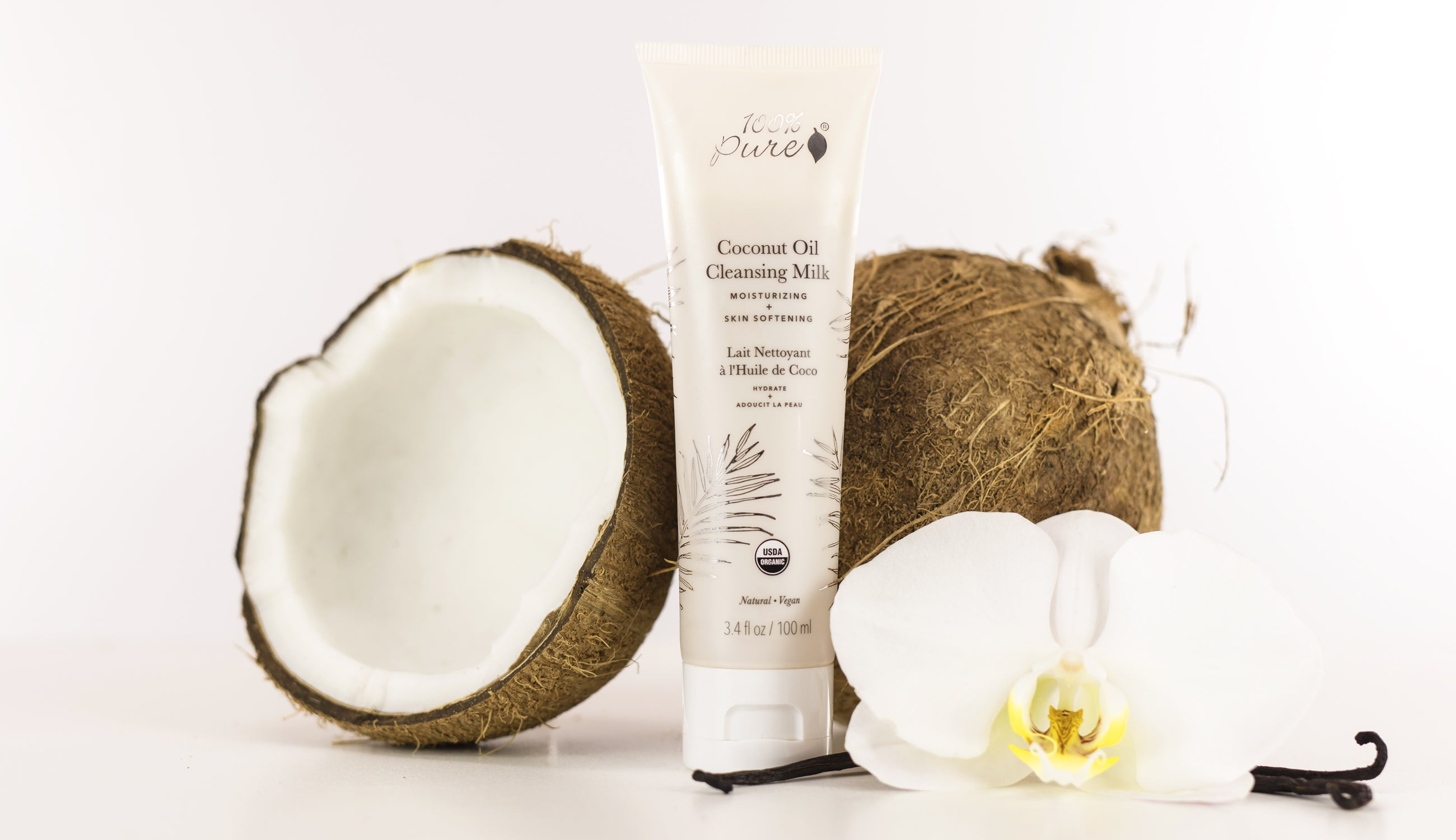 100% PURE Coconut Cleansing Milk