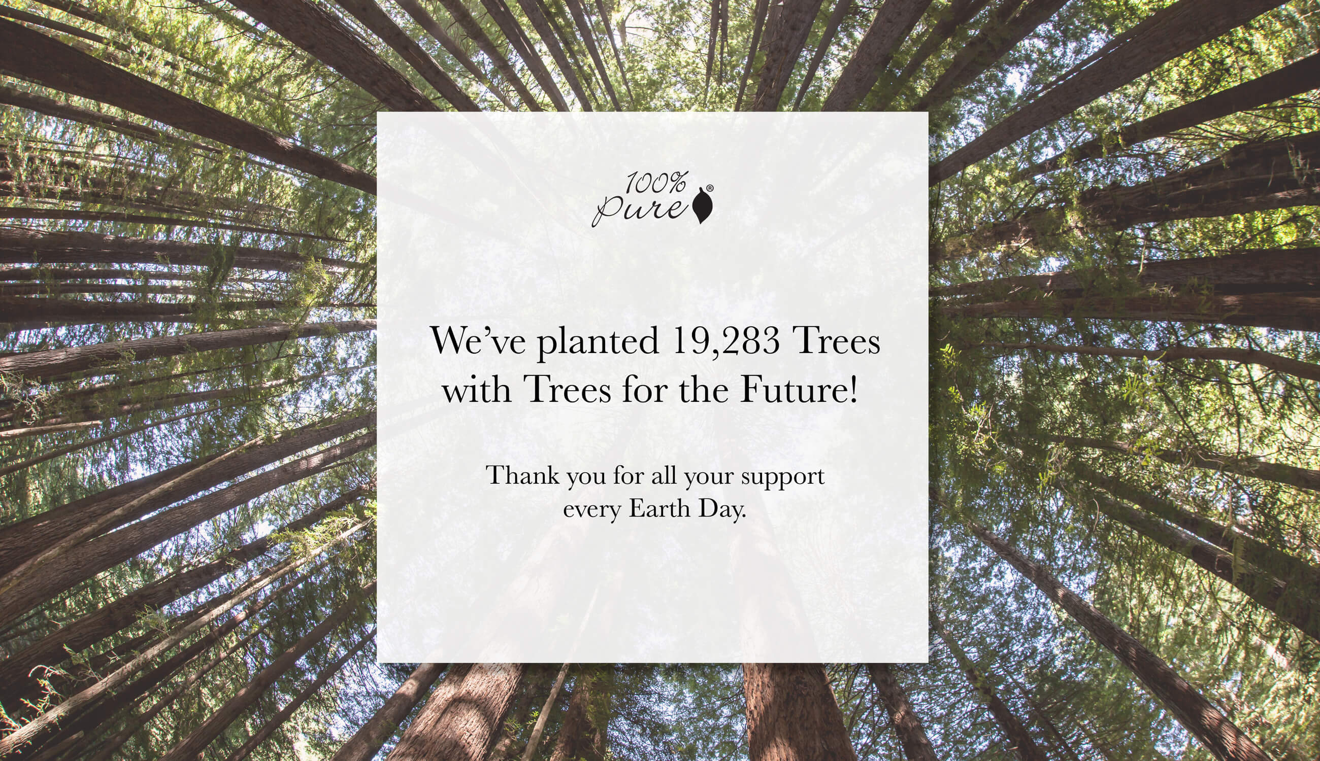 Earth Day Trees Planted
