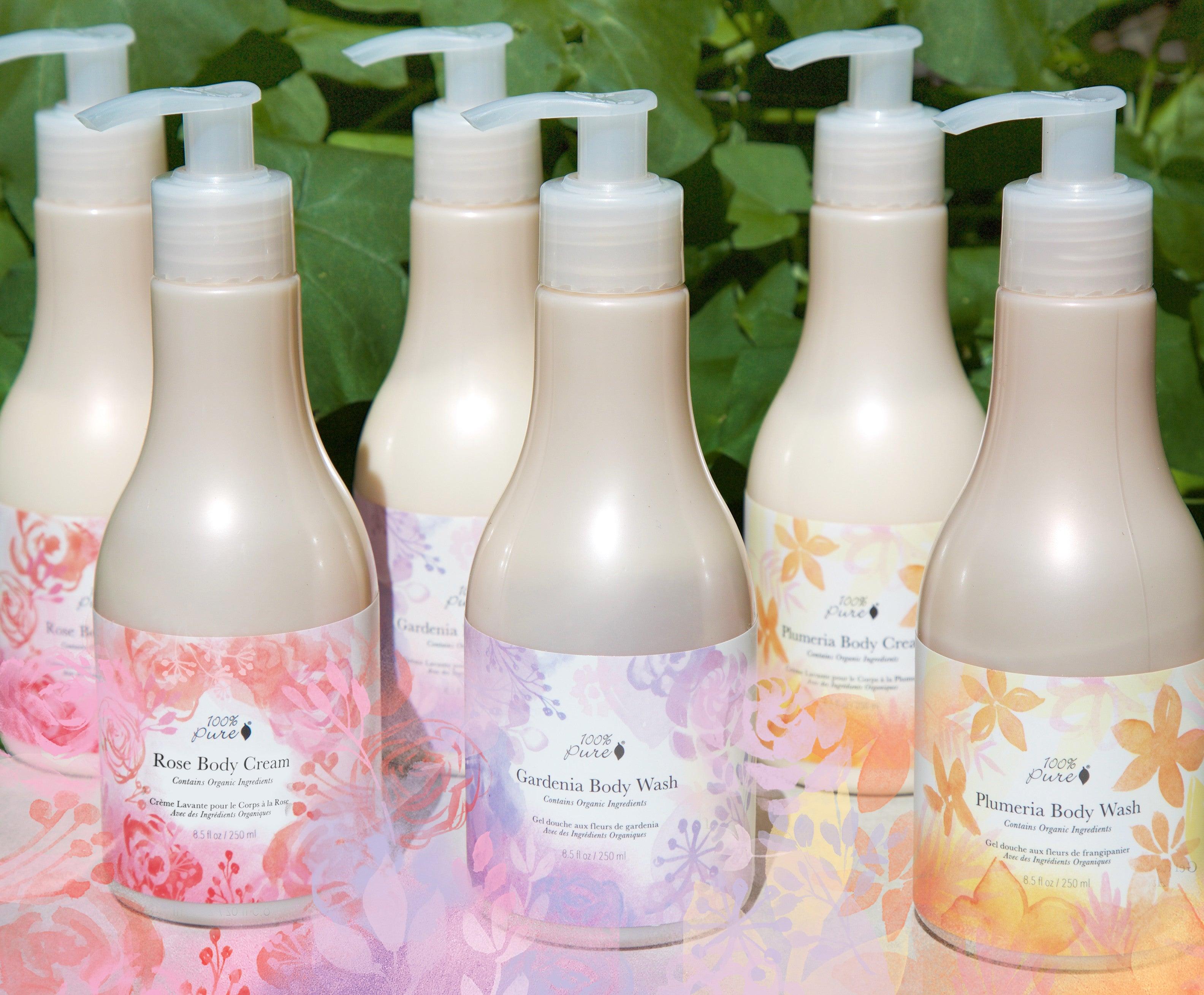 100% Pure Floral Body Collection