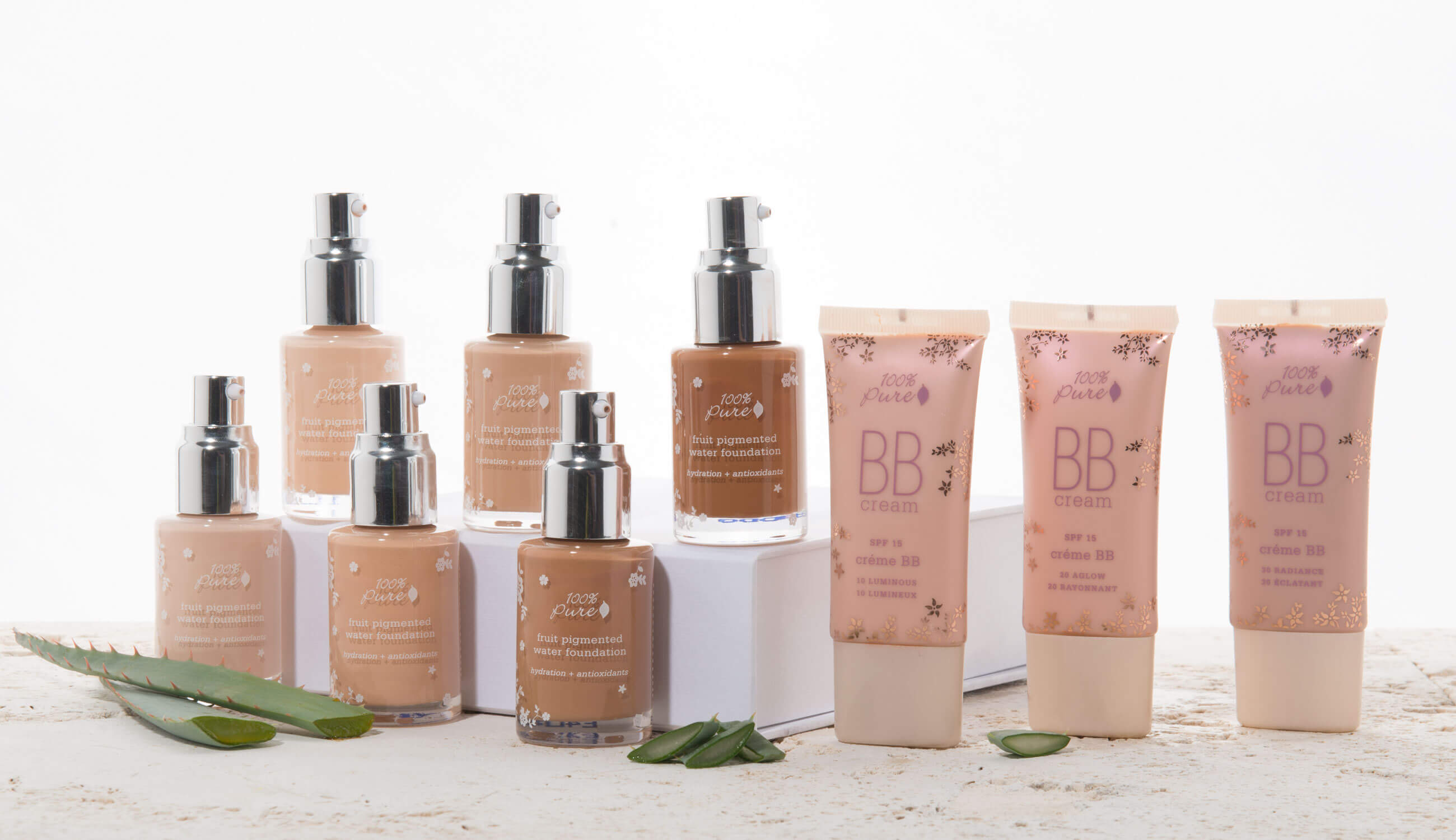 Fruit Pigmented Water Foundation & BB Cream