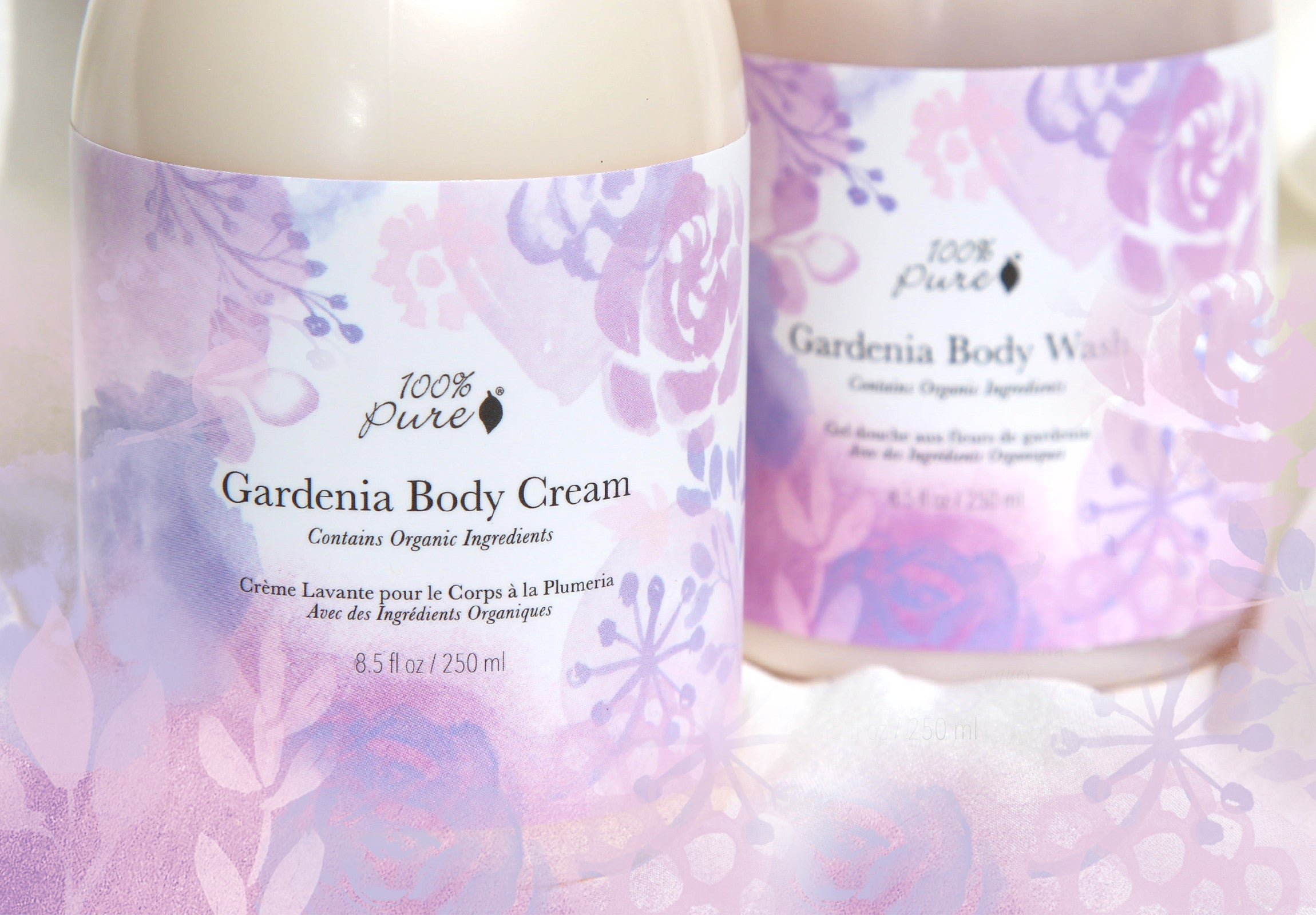 100% Pure Gardenia Body Wash