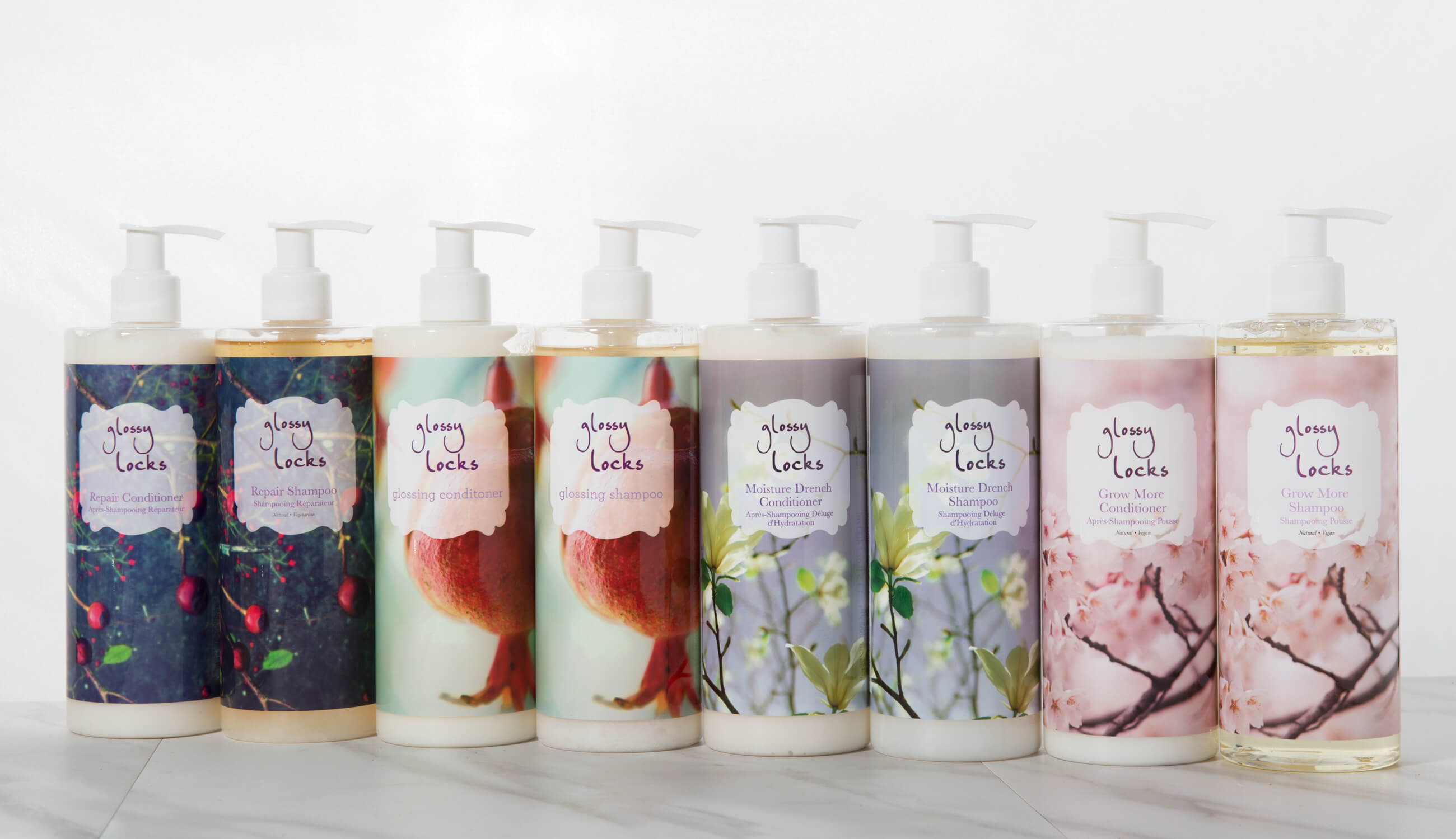 Glossy Locks Hair Product Collection