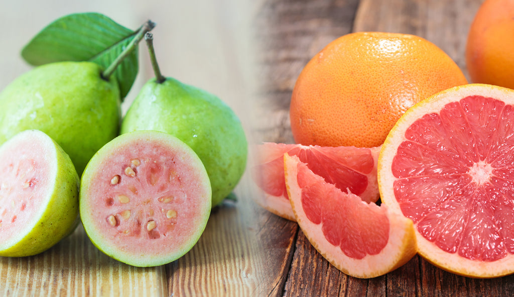 Grapefruit and Guava