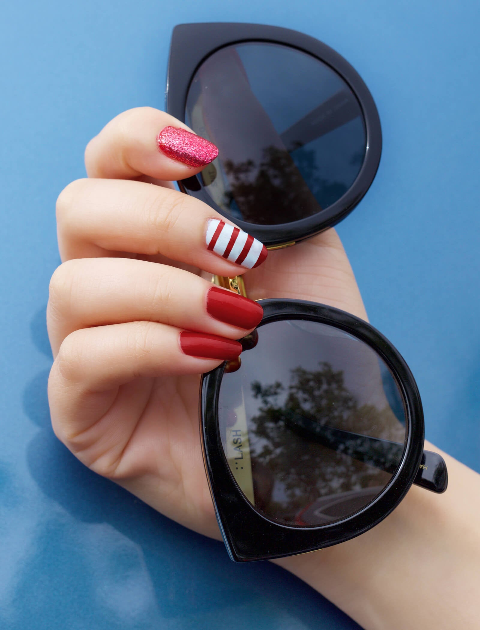 4th of July Nail Art | 100% PURE