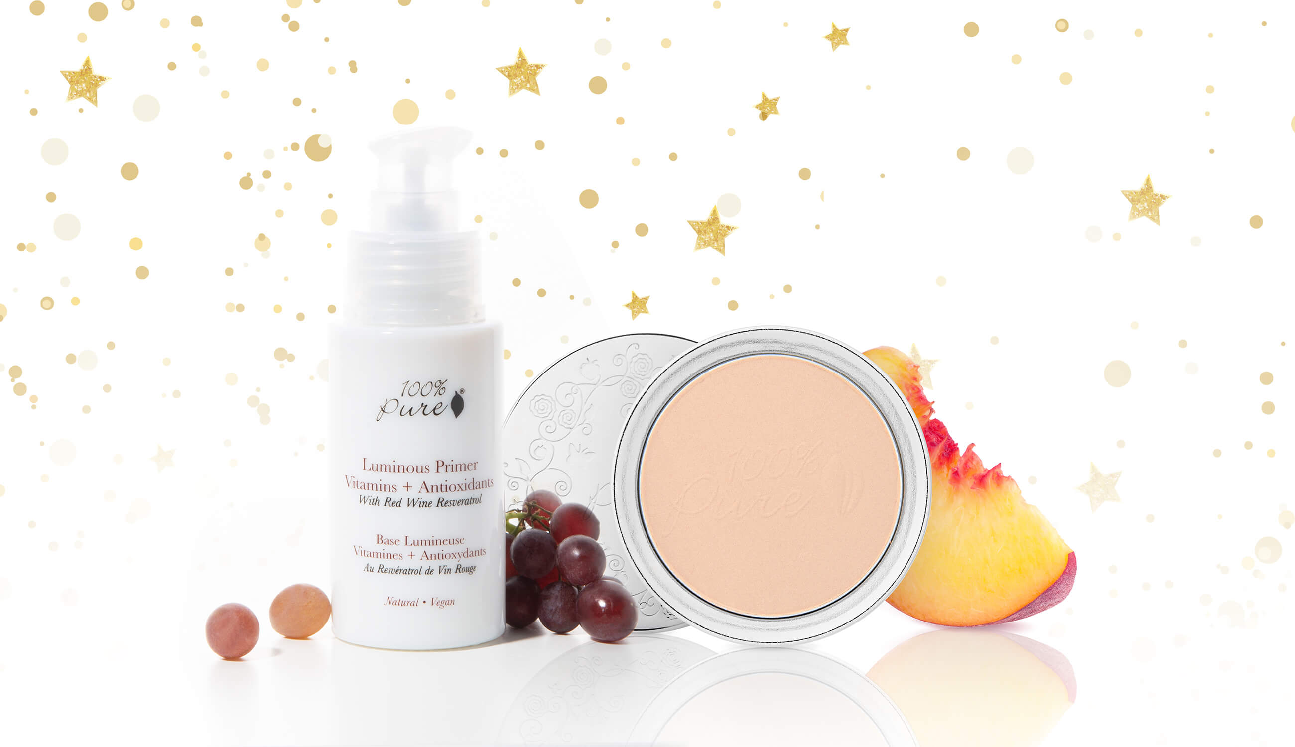 Luminous Primer and Powder Foundation