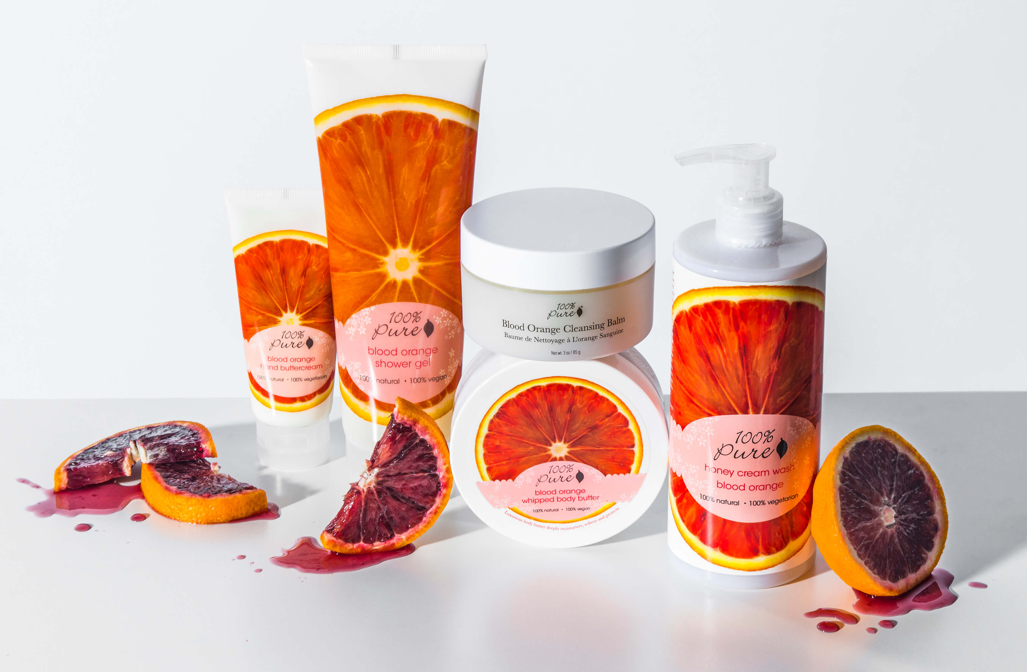 100% Pure Blood Orange Products