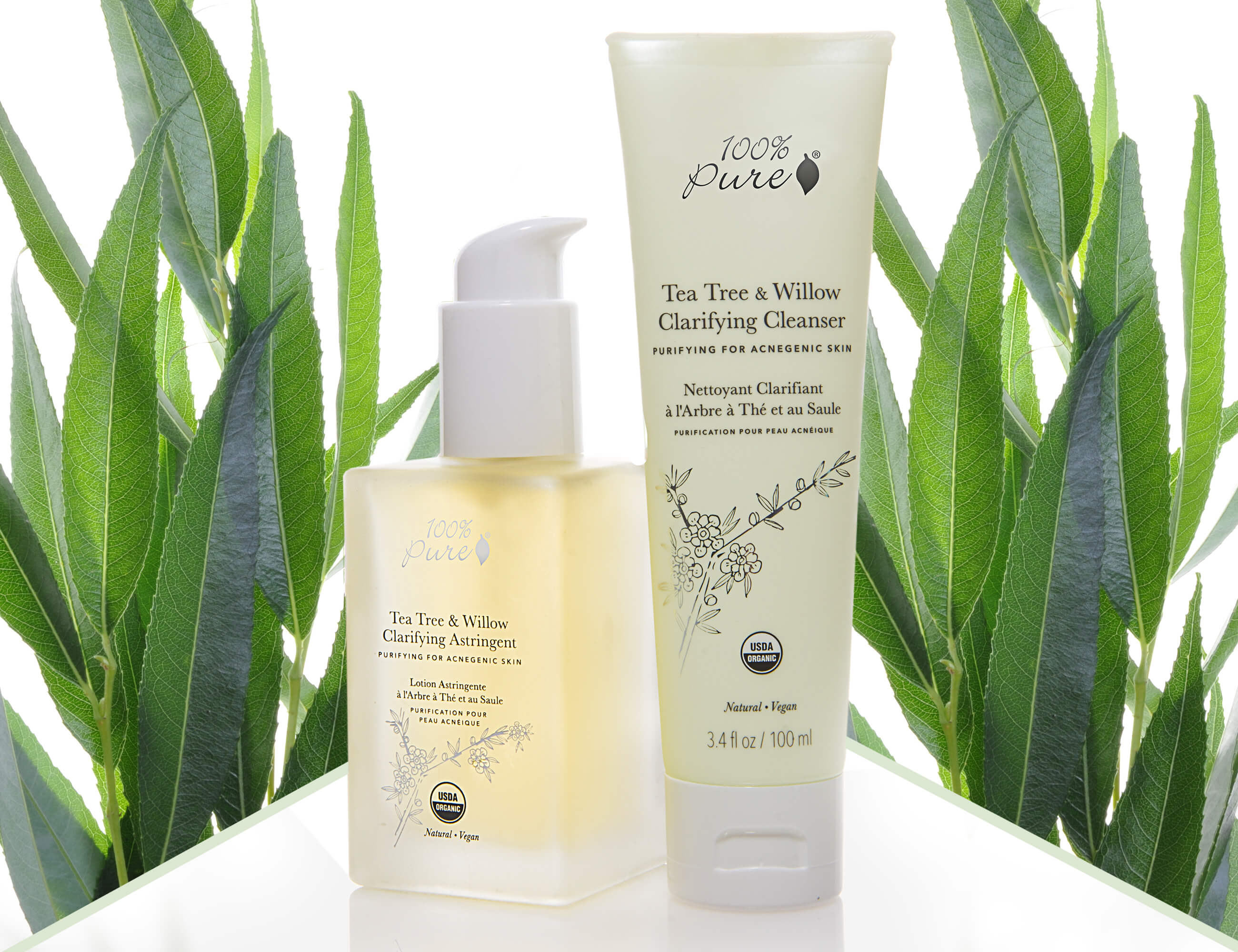 Healing Concealing Acne 100 Pure Clean Clear Clearing Cleanser Up G Products