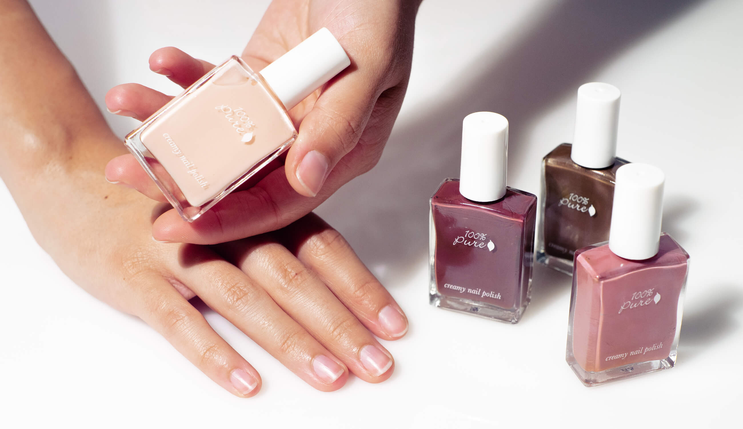 The Best Natural Nail Colors For Any Skin Tone 100 Pure