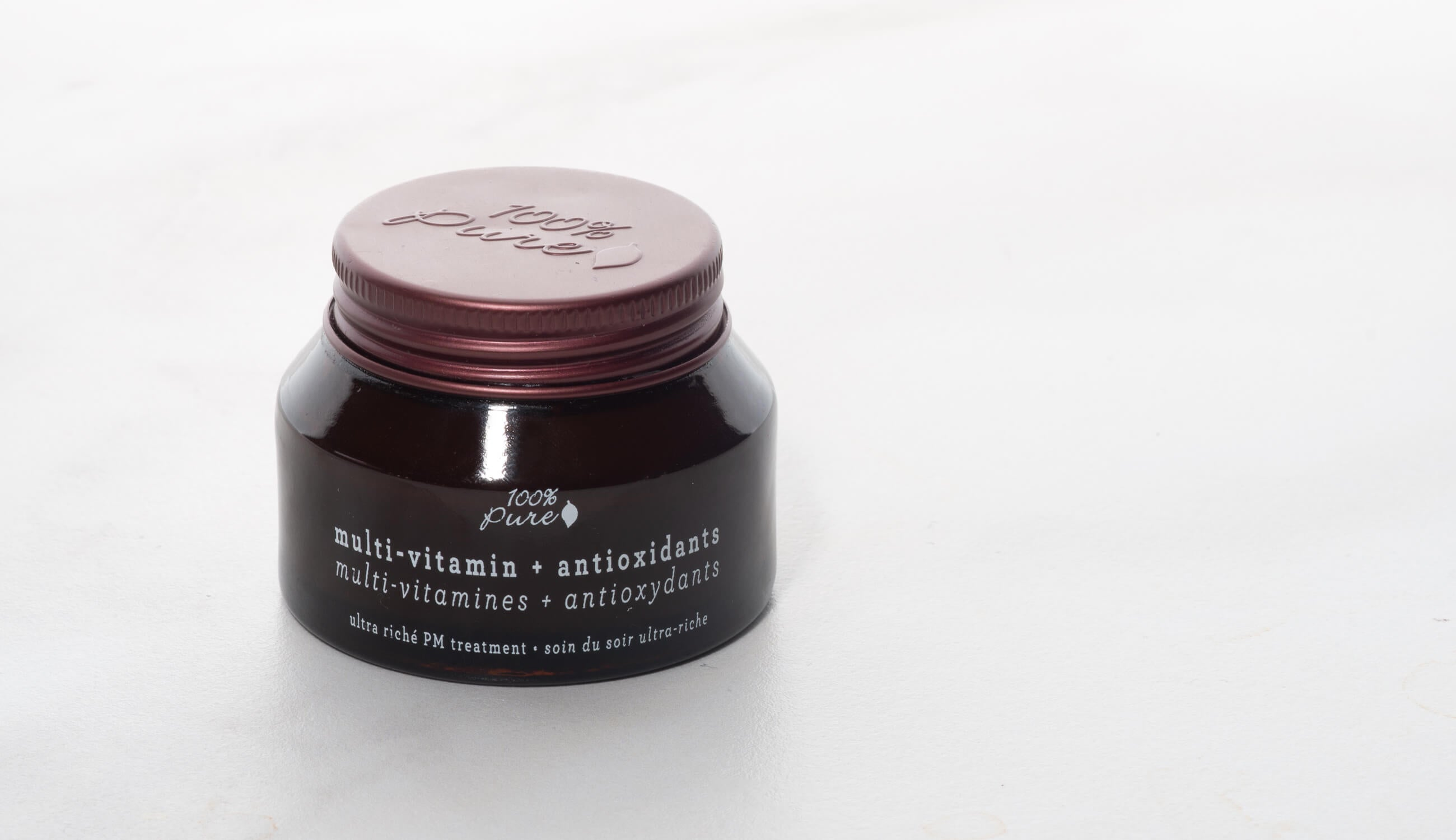 100% PURE Multi-Vitamin Antioxidants Ultra Riche PM Treatment