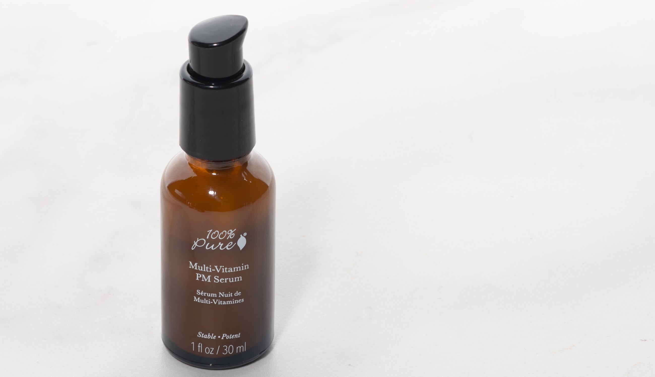 100% PURE Multi-Vitamins + Antioxidants Potent PM Serum
