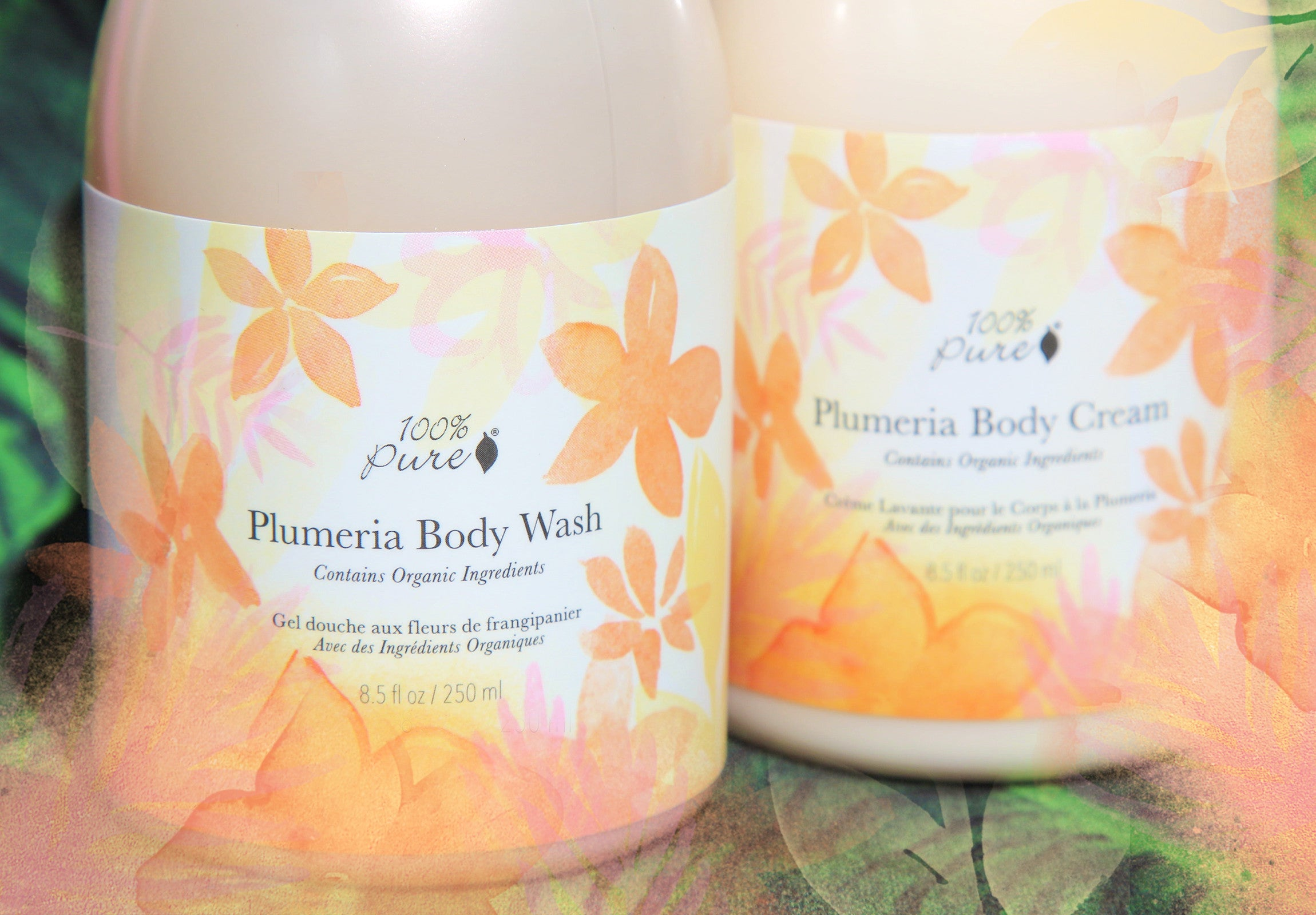 100% Pure Plumeria Body Wash