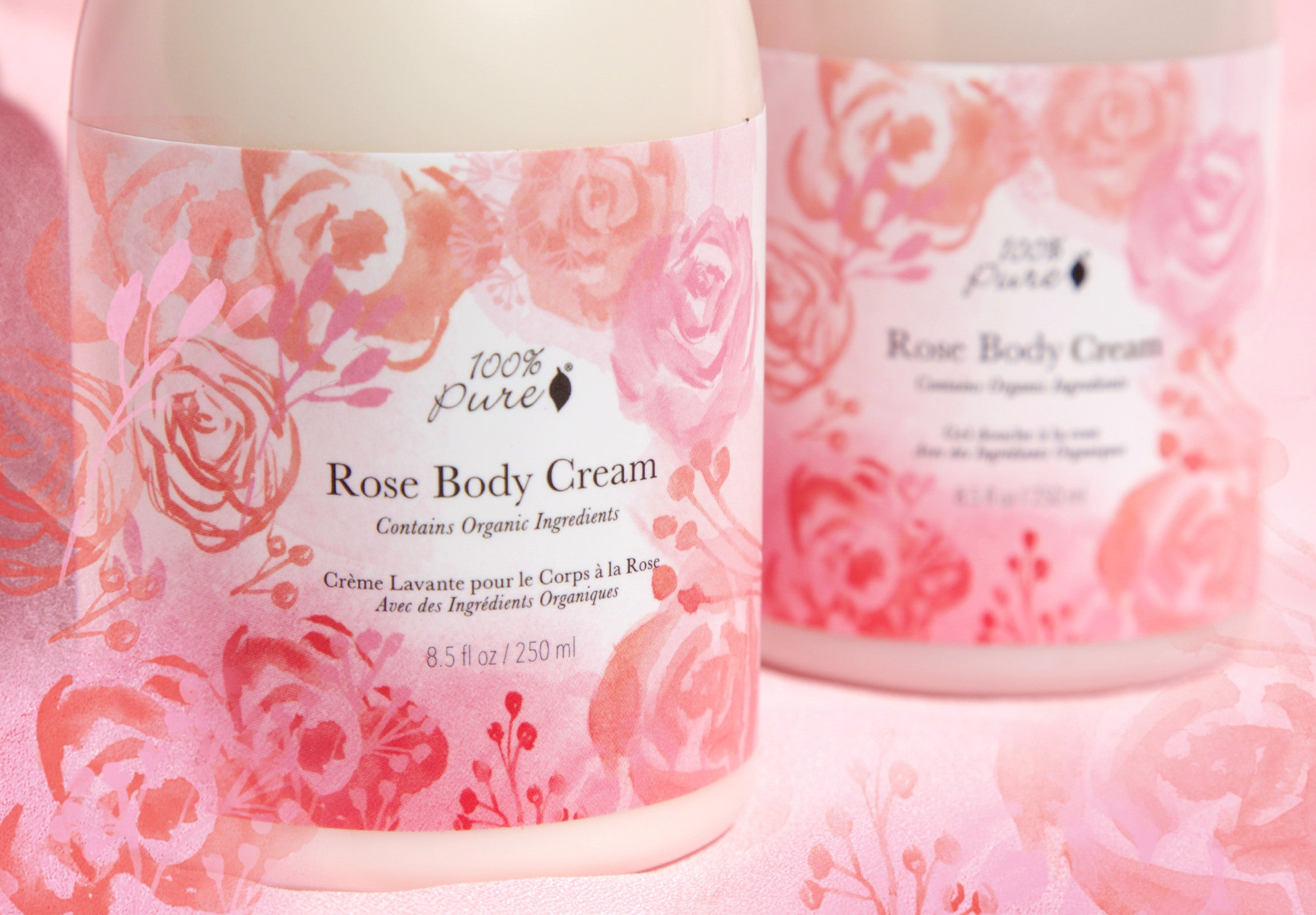 100% Pure Rose Body Wash