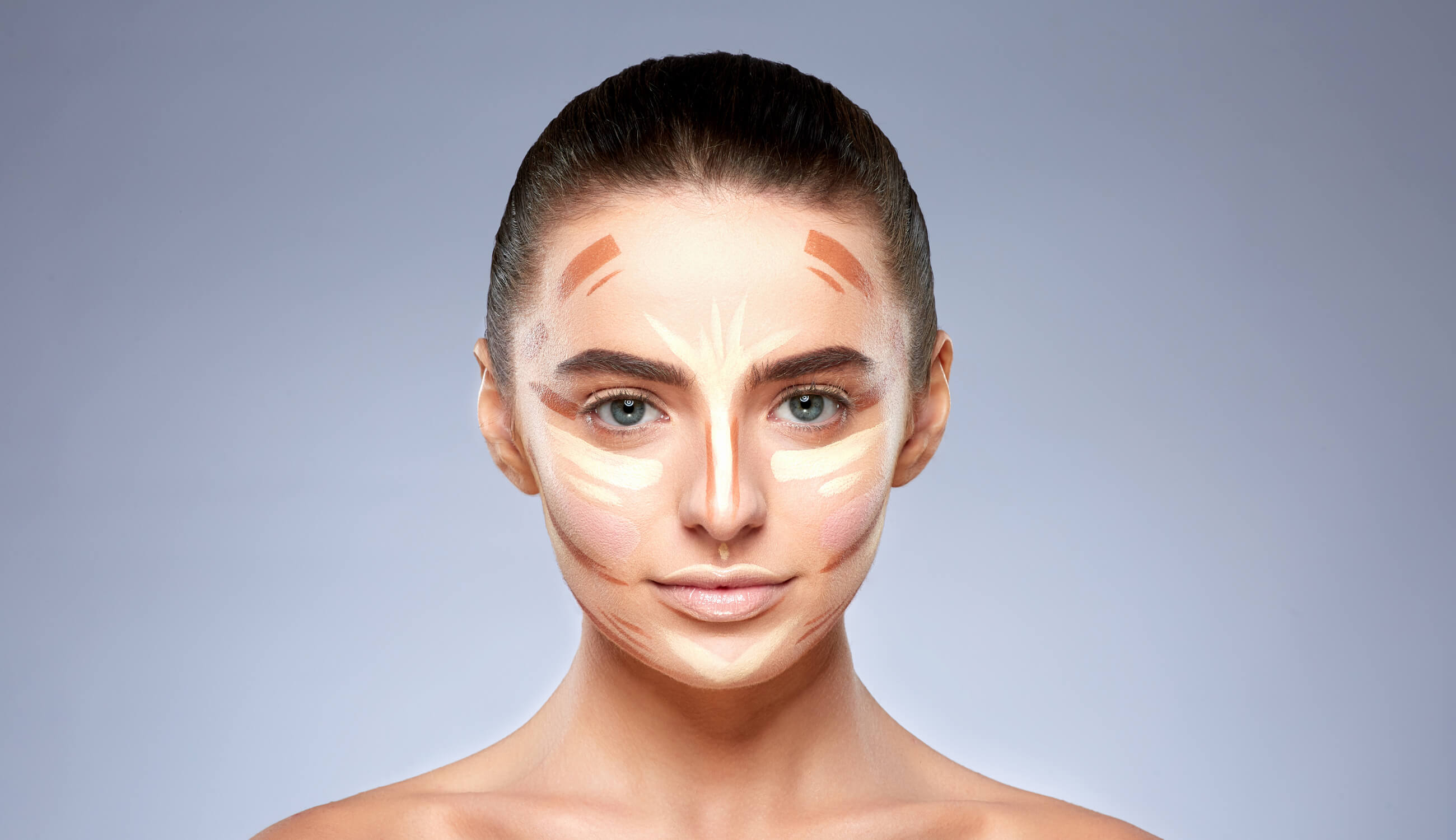 Contouring Makeup for a Round Face  11% Pure