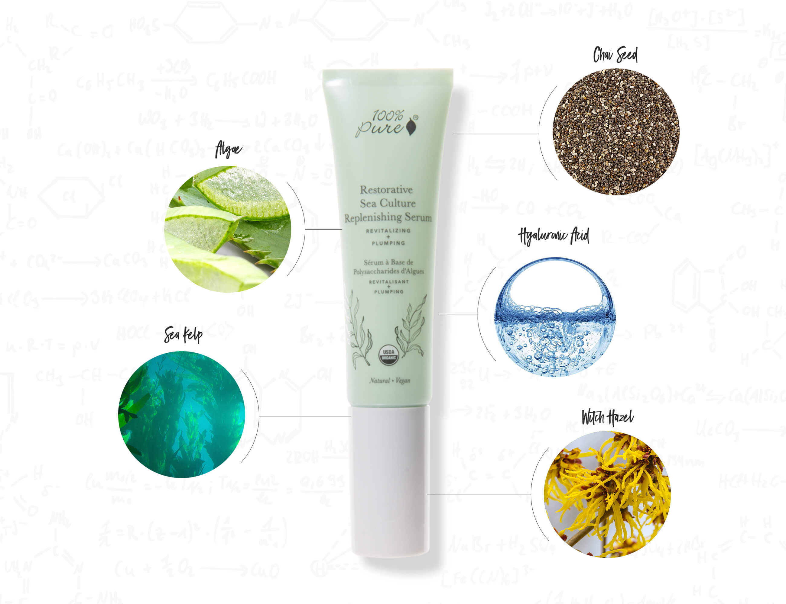 Sea Culture Serum Infographic