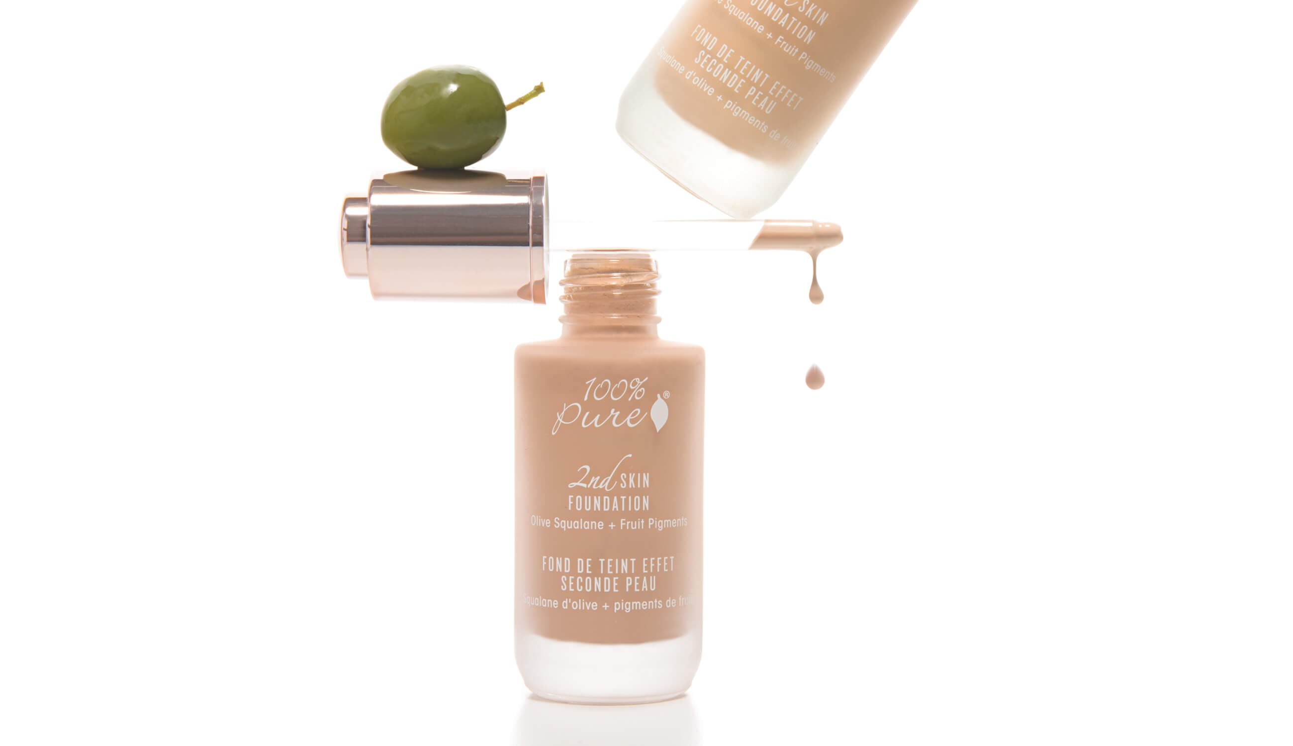 100% PURE Second Skin Foundation
