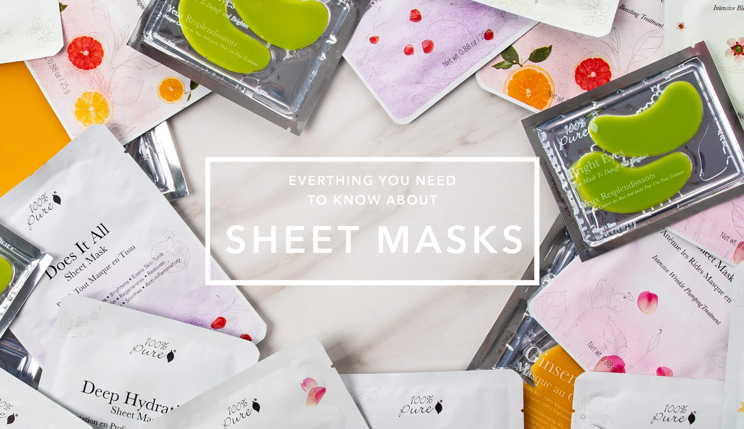 Sheet Masks Main