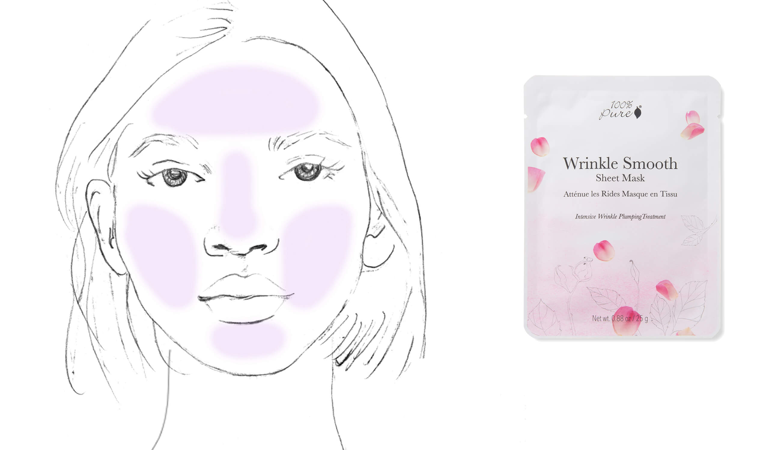 100% Pure Wrinkle Smooth Mask