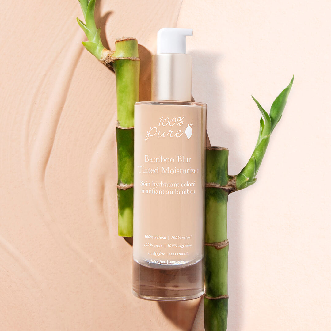 100% Pure Bamboo Blur Tinted Moisturizer