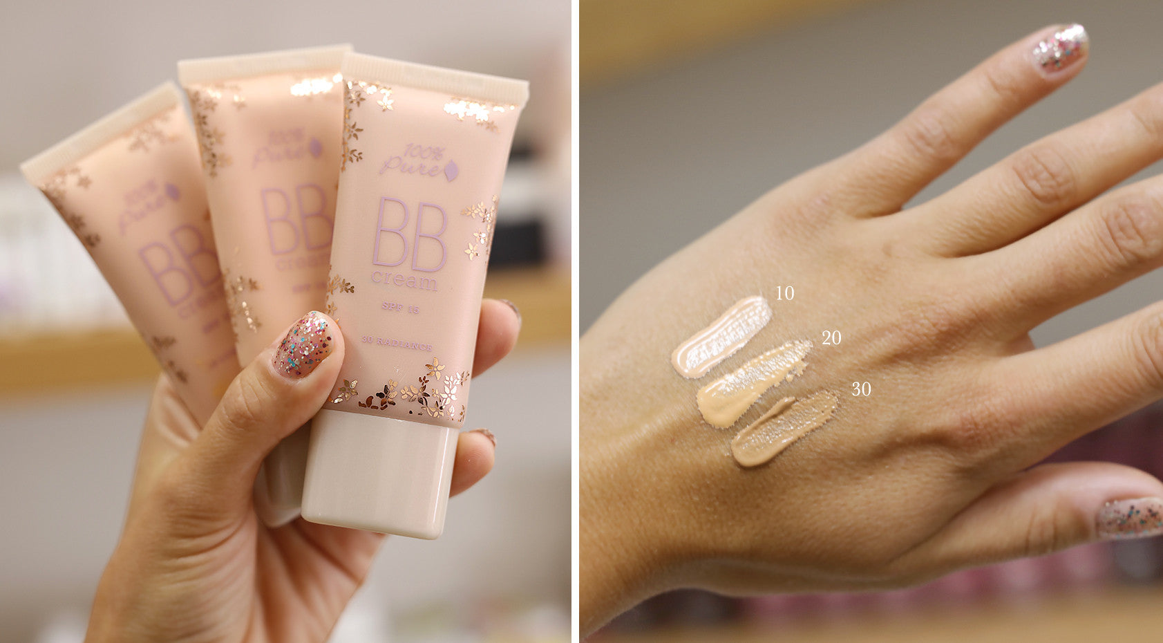 BB Cream Swatch