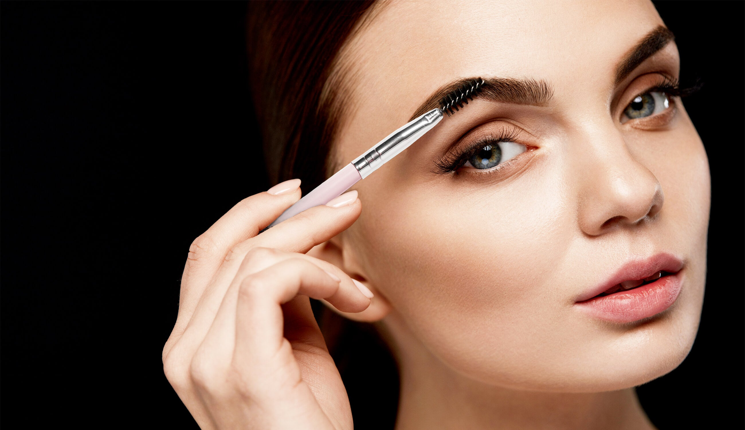 Brow Brushing