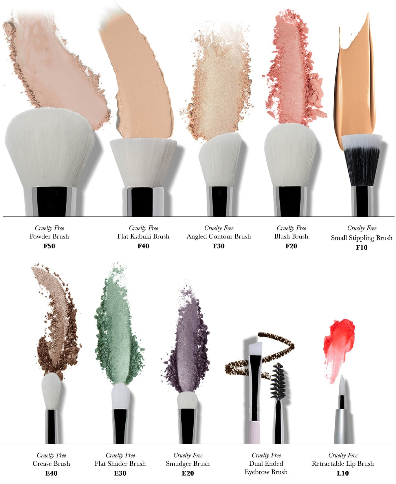 foto Natural vs. Synthetic: Which Makeup Brushes toUse