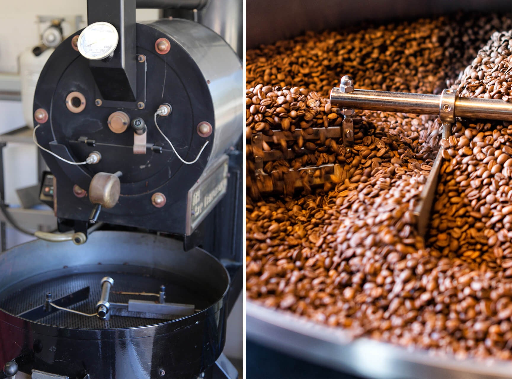 coffee bean roasting