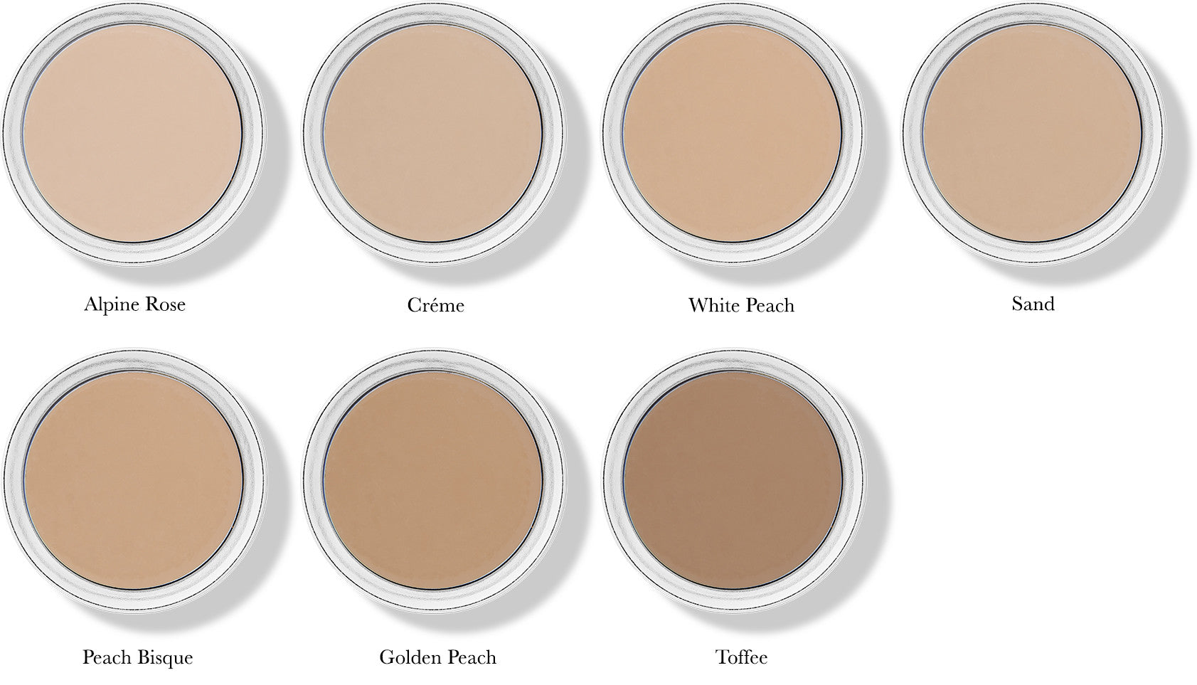 Fruit Pigmented Cream Foundations