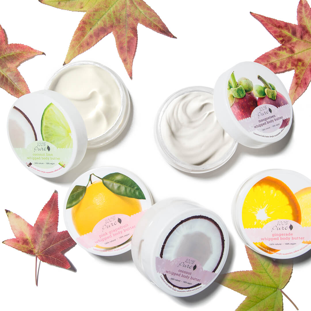 100% PURE Body Butters