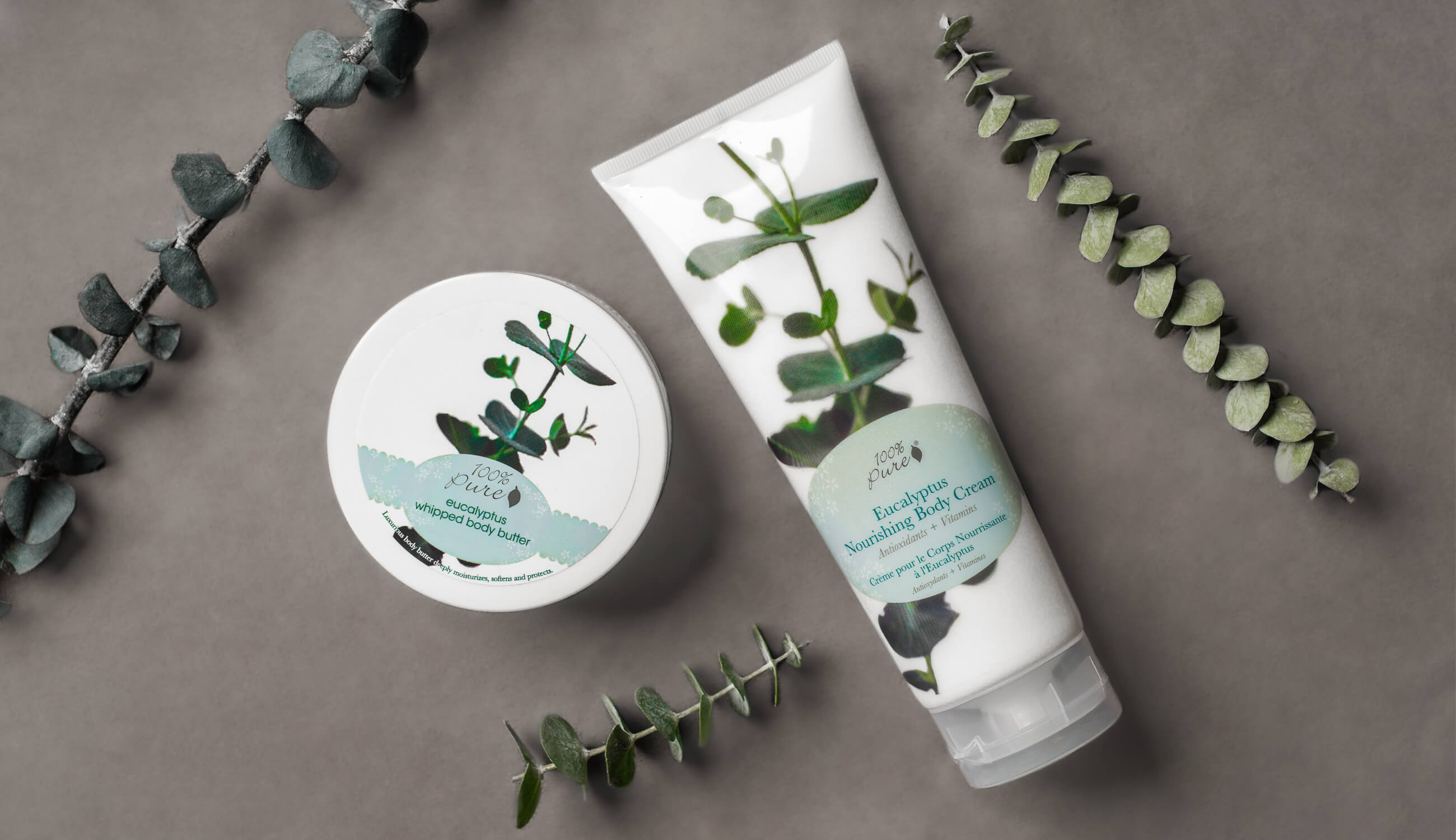 Eucalyptus body cream butter