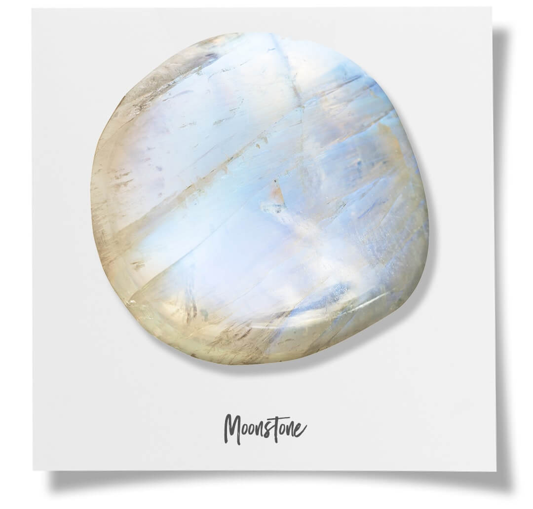 Gemstones Moonstone