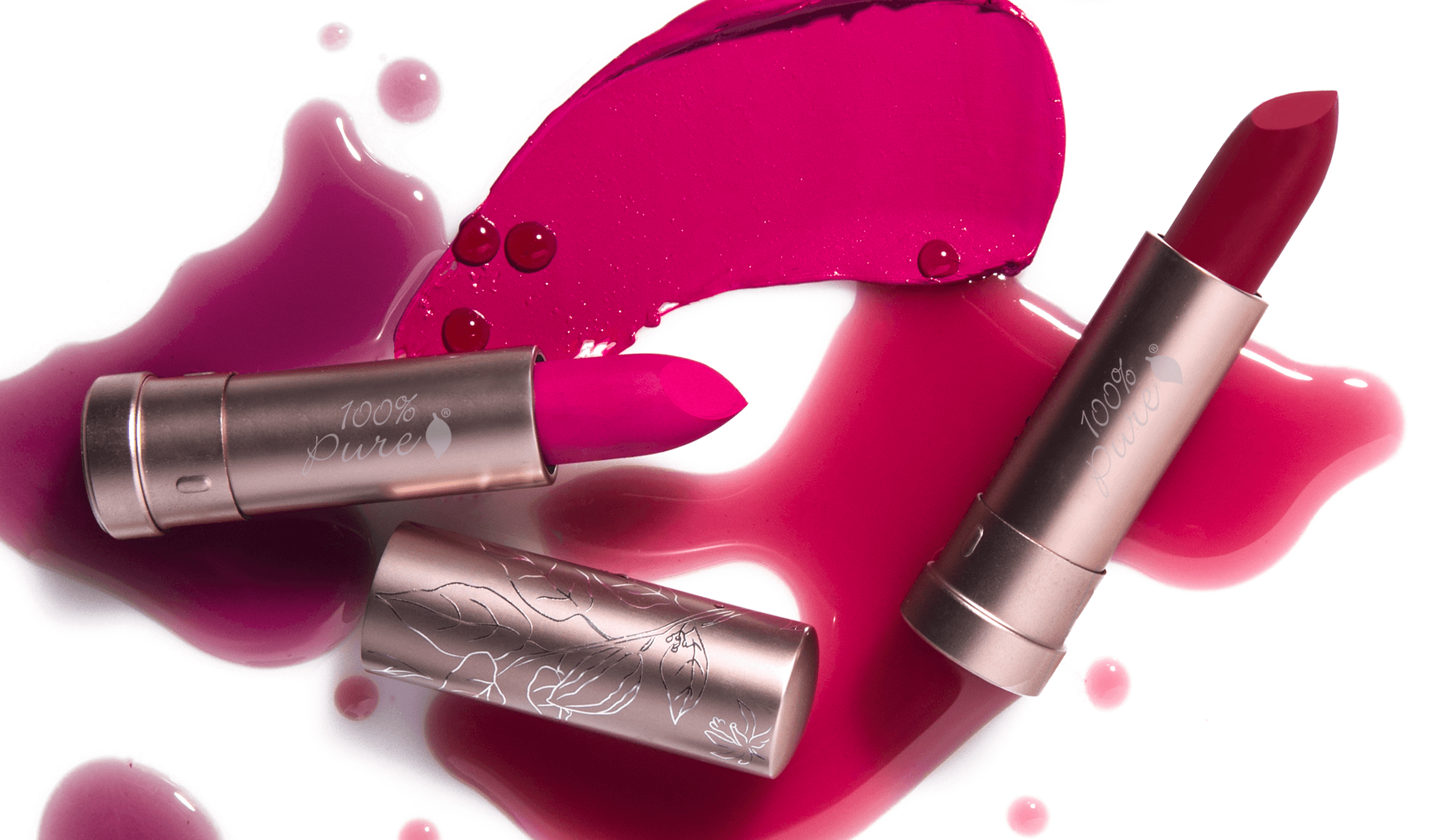 100% PURE Juicy Matte Lipsticks