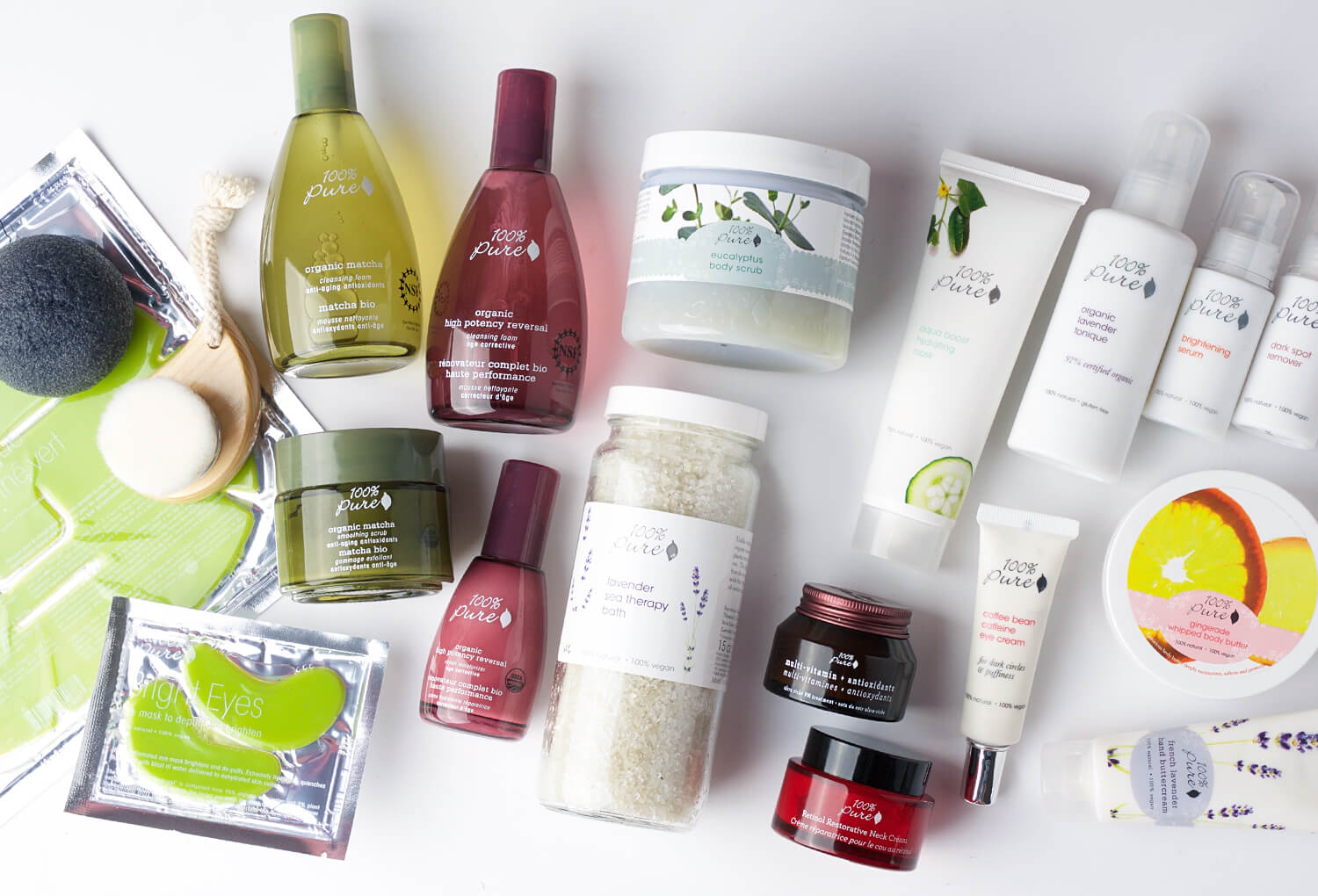 Skin Care products from Katies' routine