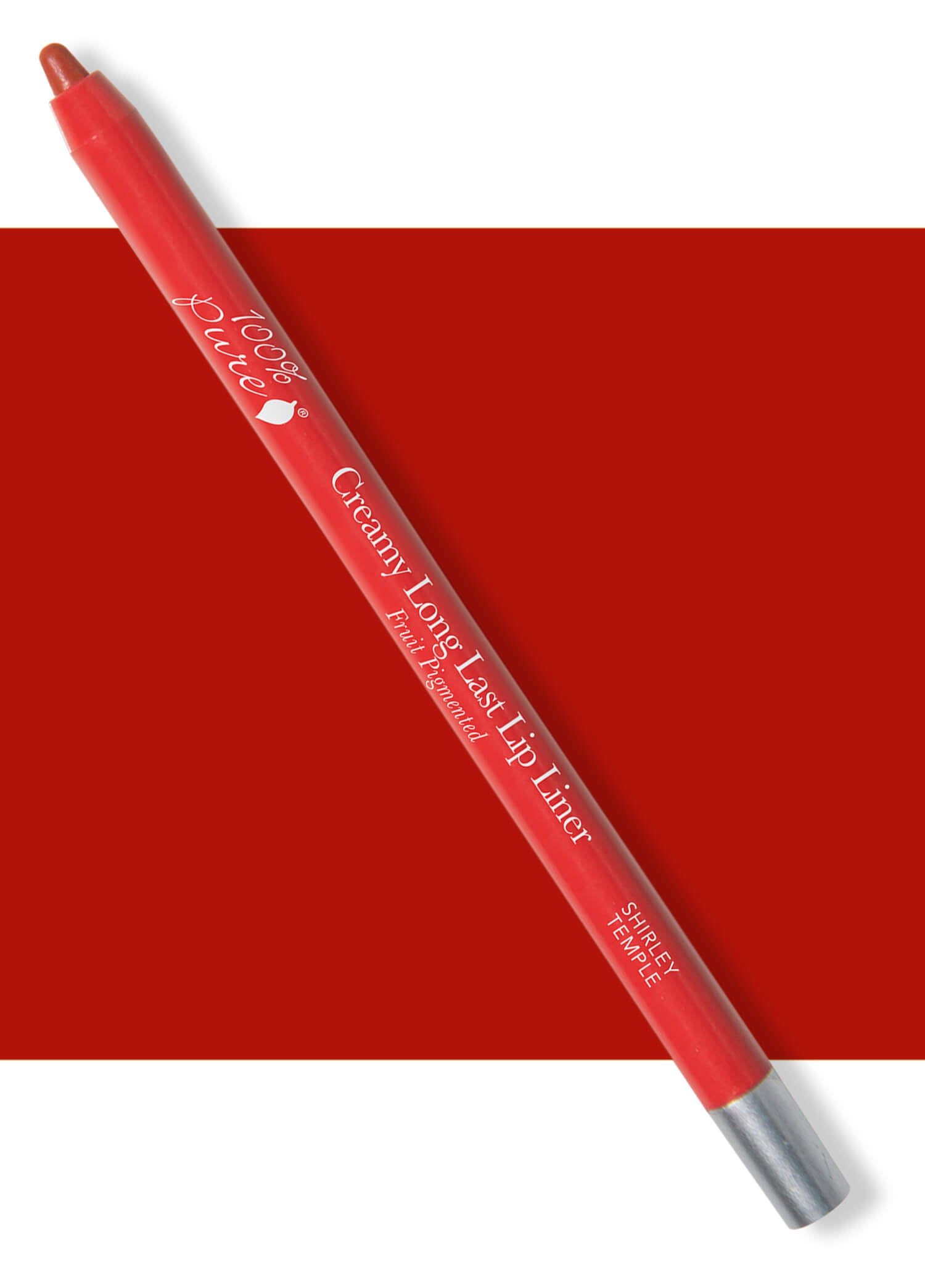 100% PURE Creamy Long Last Lip Liner: Shirley Temple
