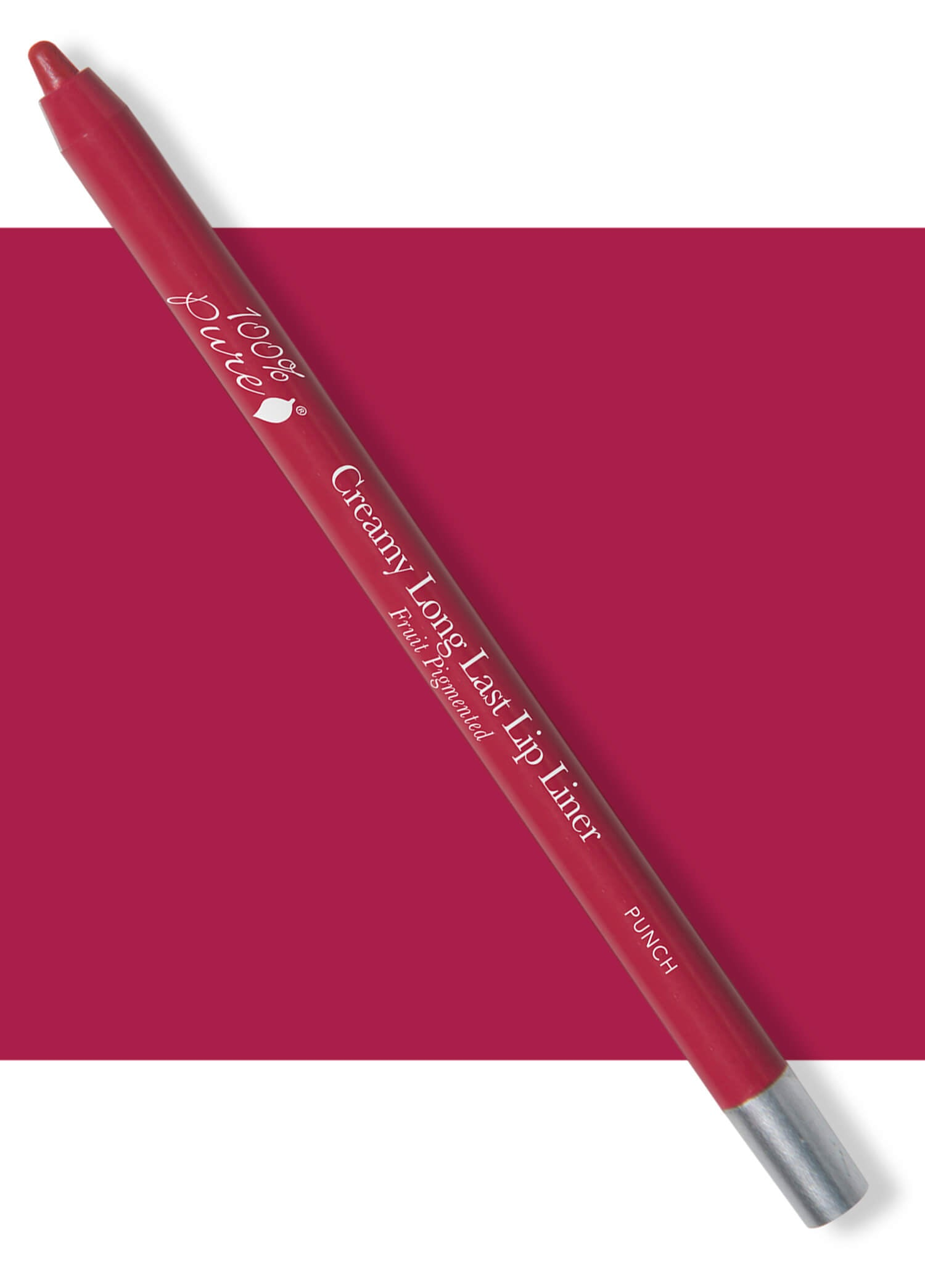 100% PURE Creamy Long Last Lip Liner: Punch