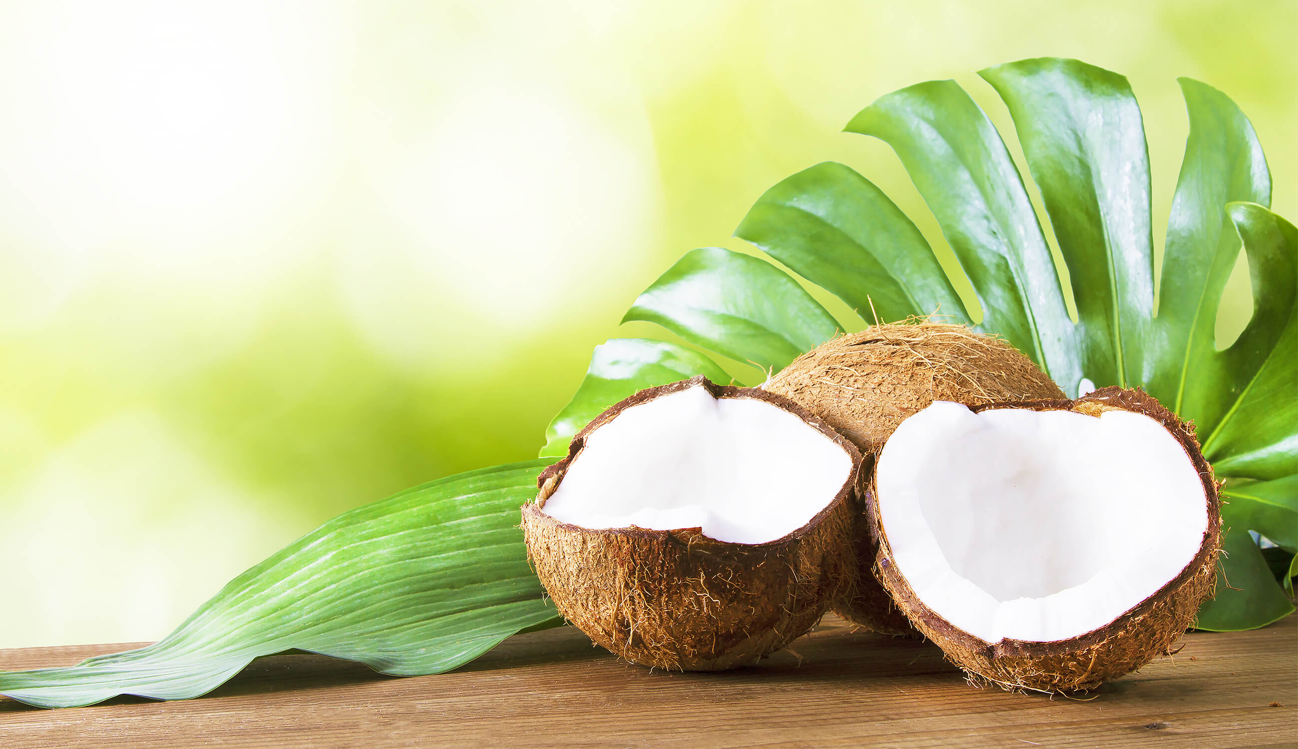 Summery coconut