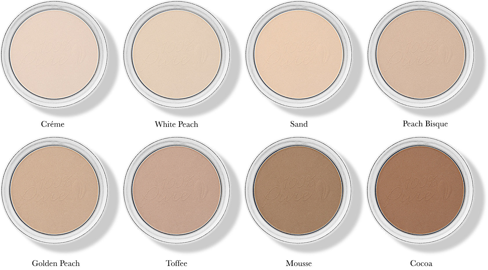Fruit Pigmented Foundation Powders