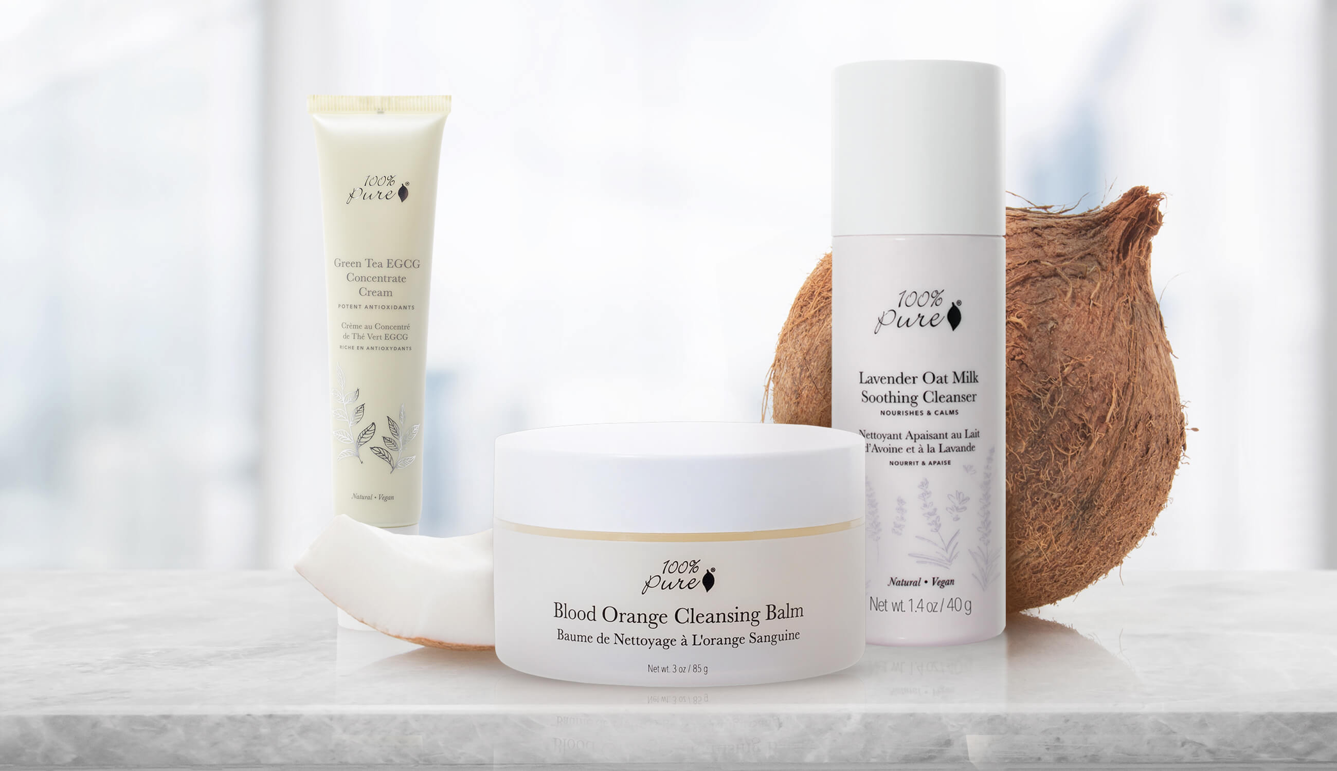 Products with coconuts