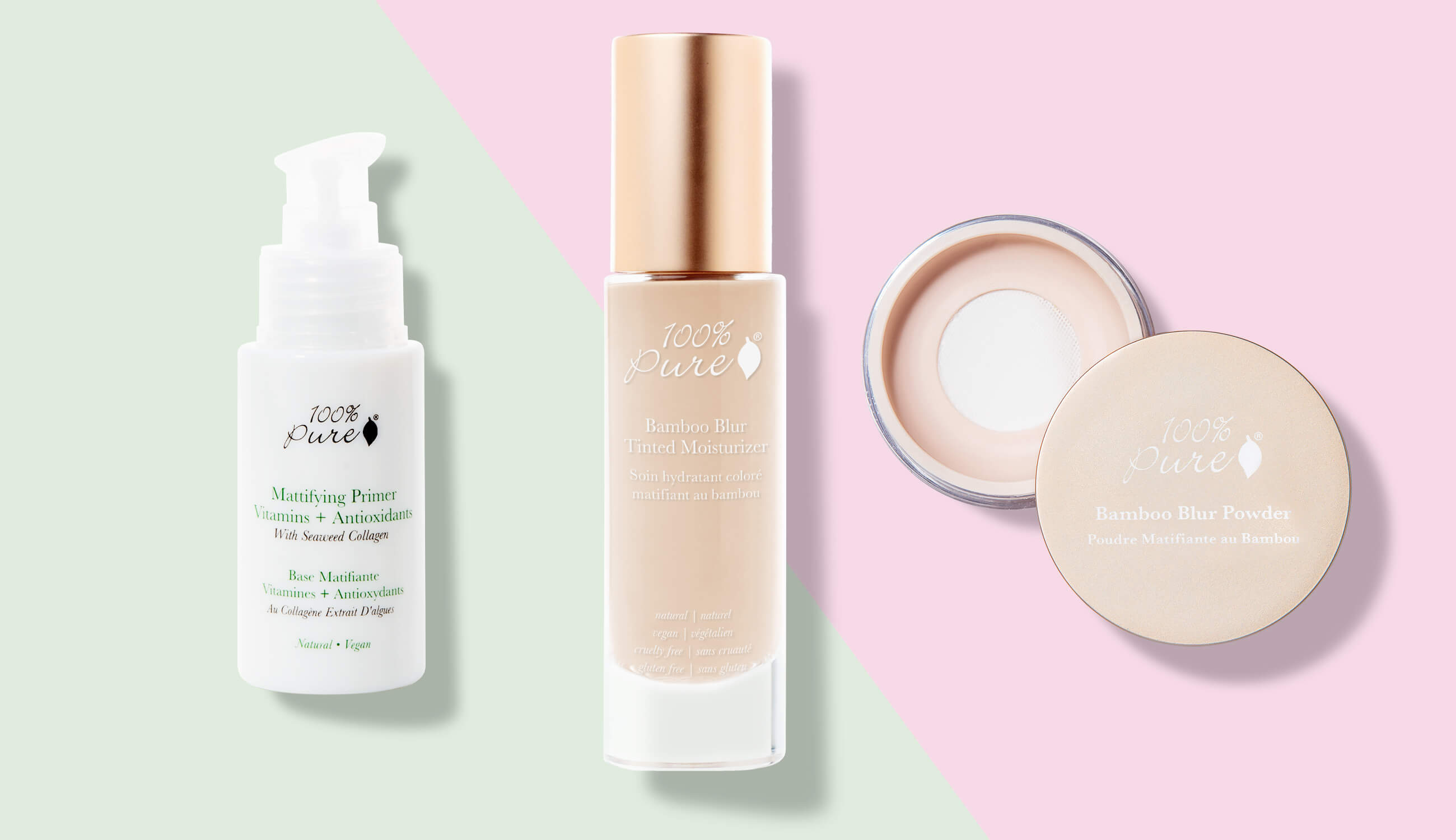 Small pores products