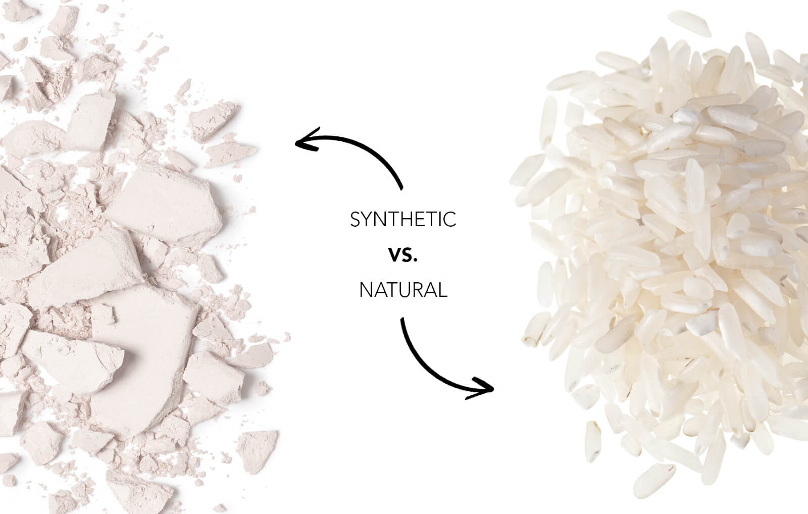 Synthetic vs. Real Ingredients