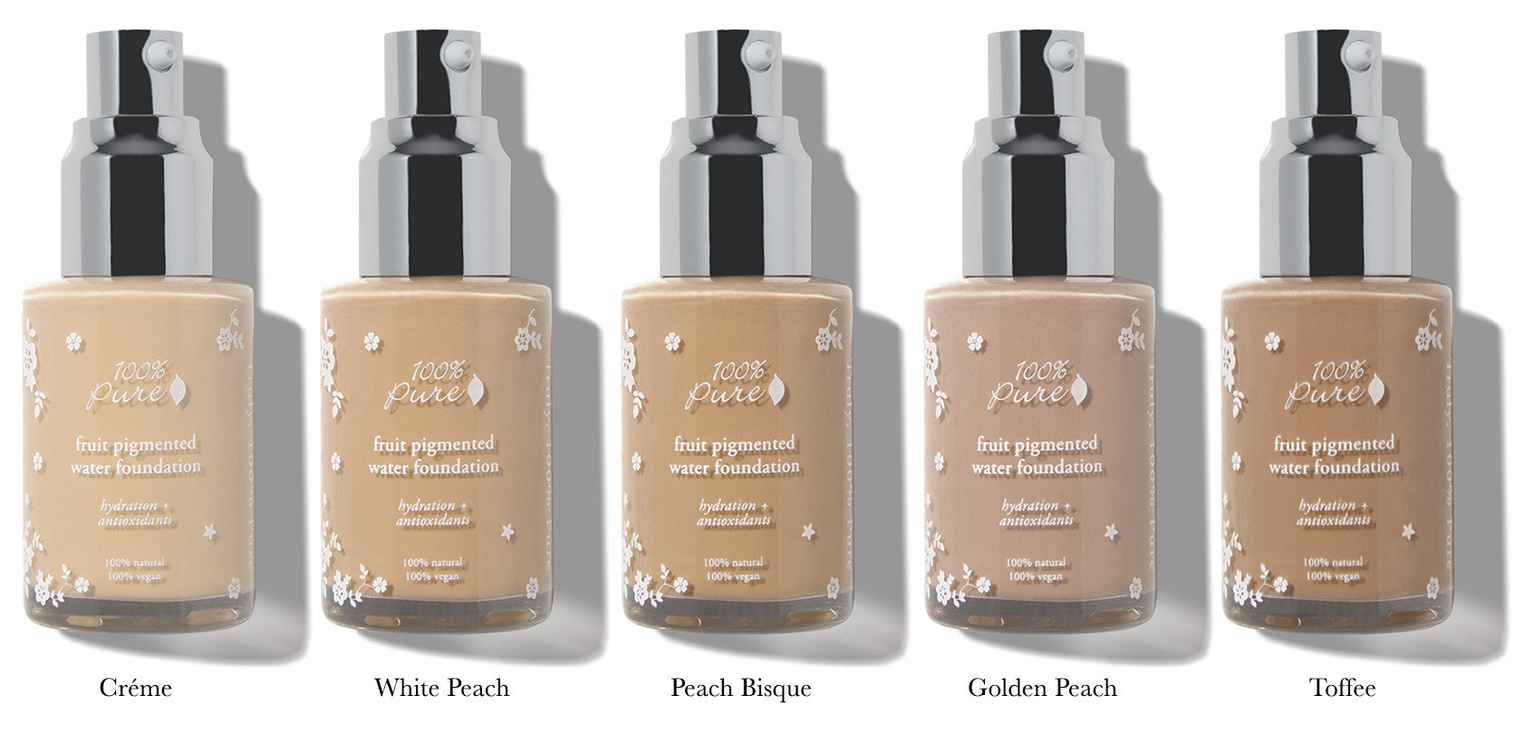 Fruit Pigmented Water Foundations